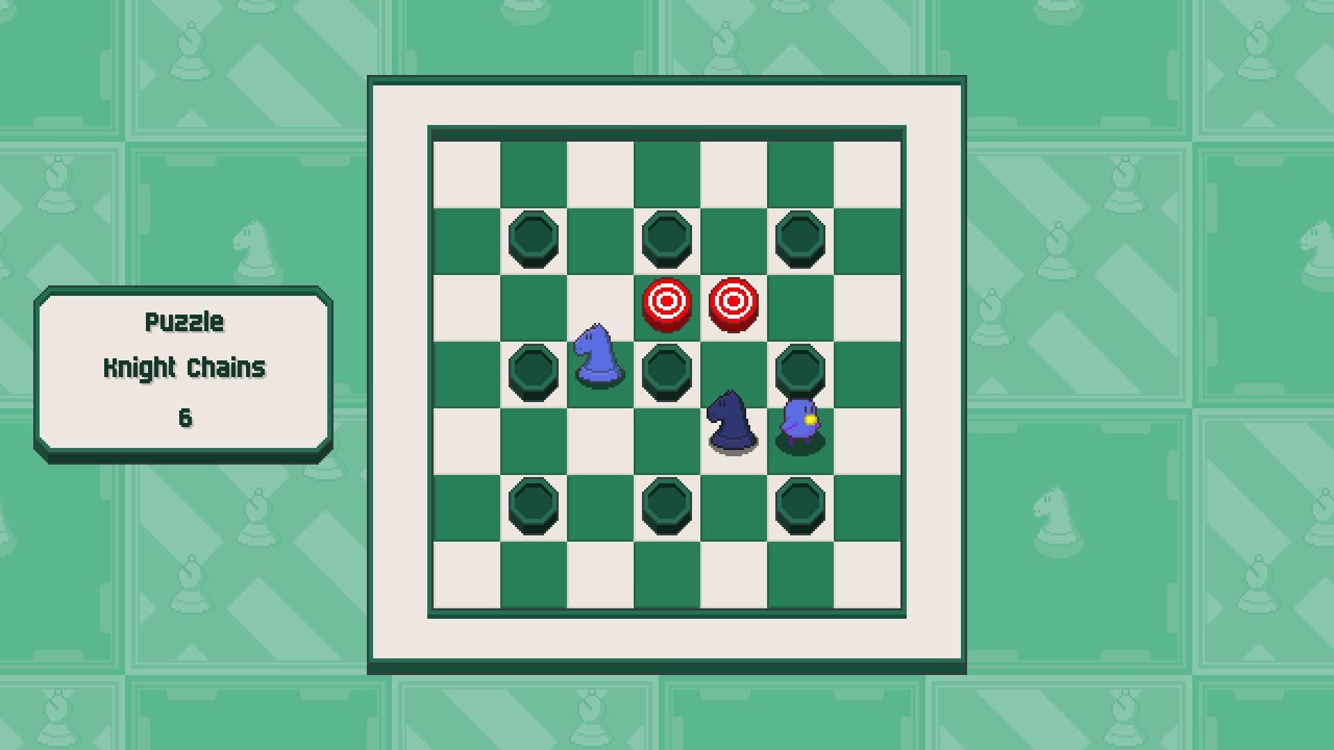 Chessplosion - Puzzle Solution Guide + Achievements Walkthrough - Advanced: Knight Chains - 567EB07