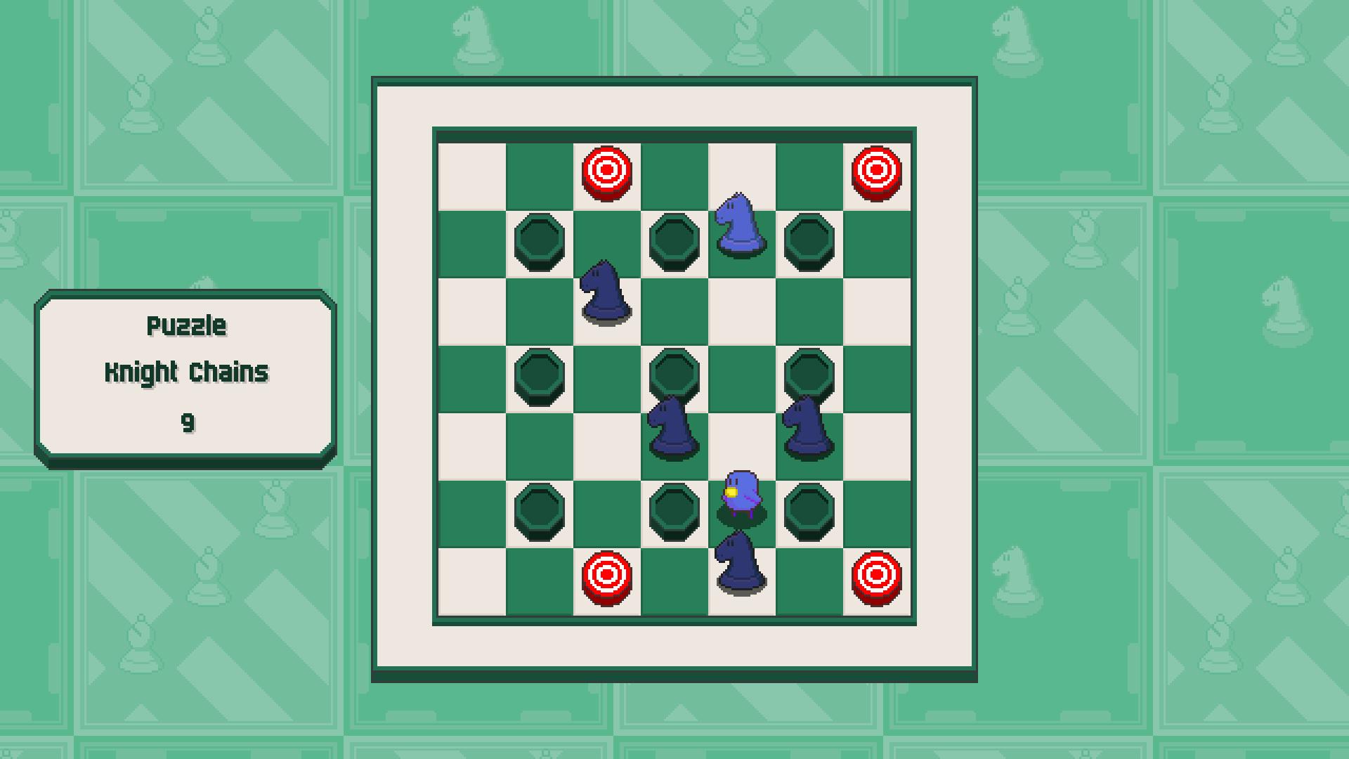 Chessplosion - Puzzle Solution Guide + Achievements Walkthrough - Advanced: Knight Chains - 6156C14