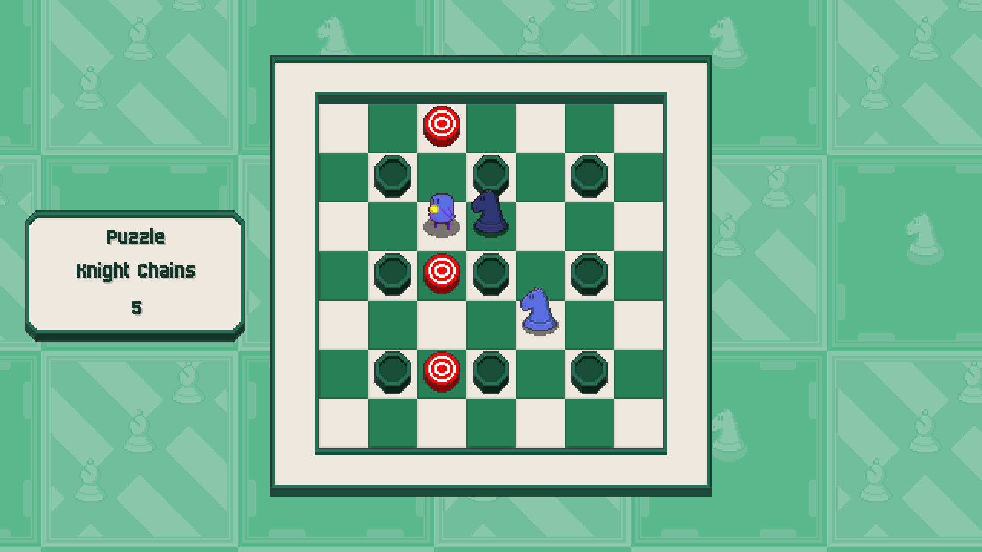 Chessplosion - Puzzle Solution Guide + Achievements Walkthrough - Advanced: Knight Chains - AF05A04