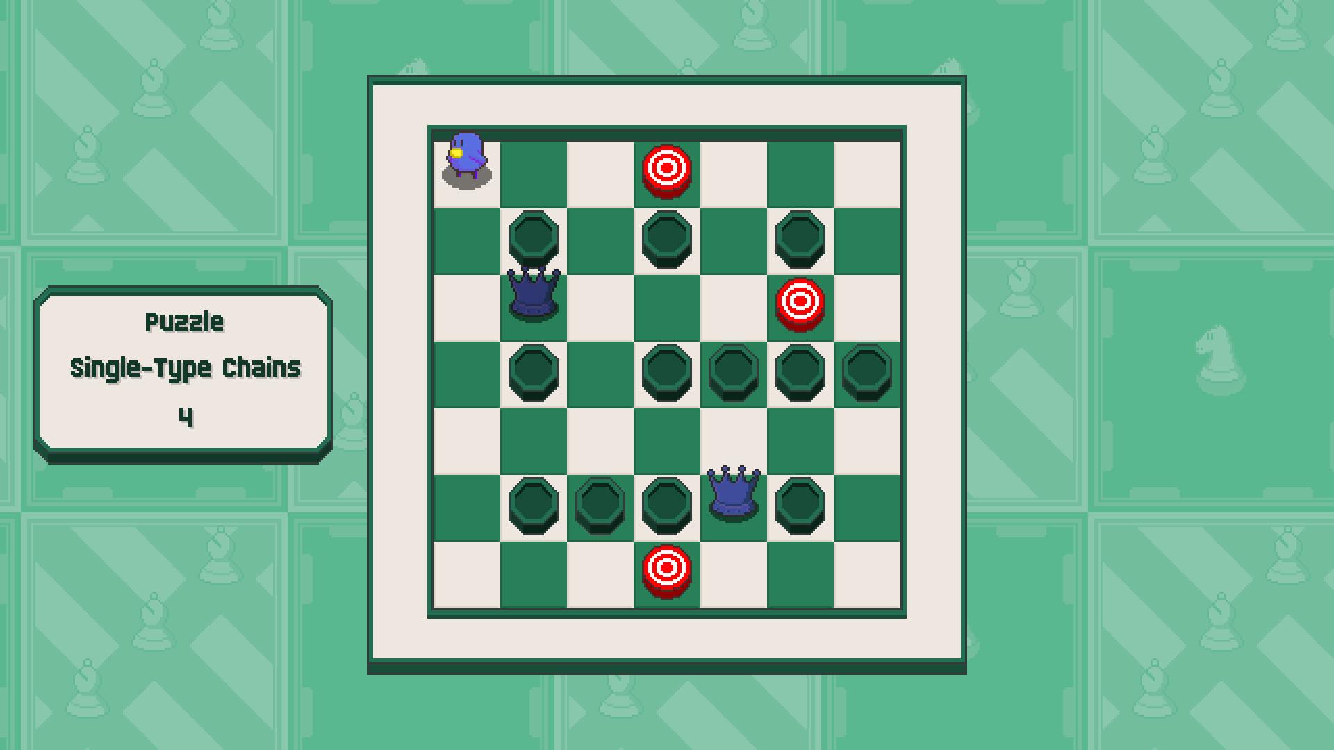 Chessplosion - Puzzle Solution Guide + Achievements Walkthrough - Advanced: Single-Type Chains - 47CBA71