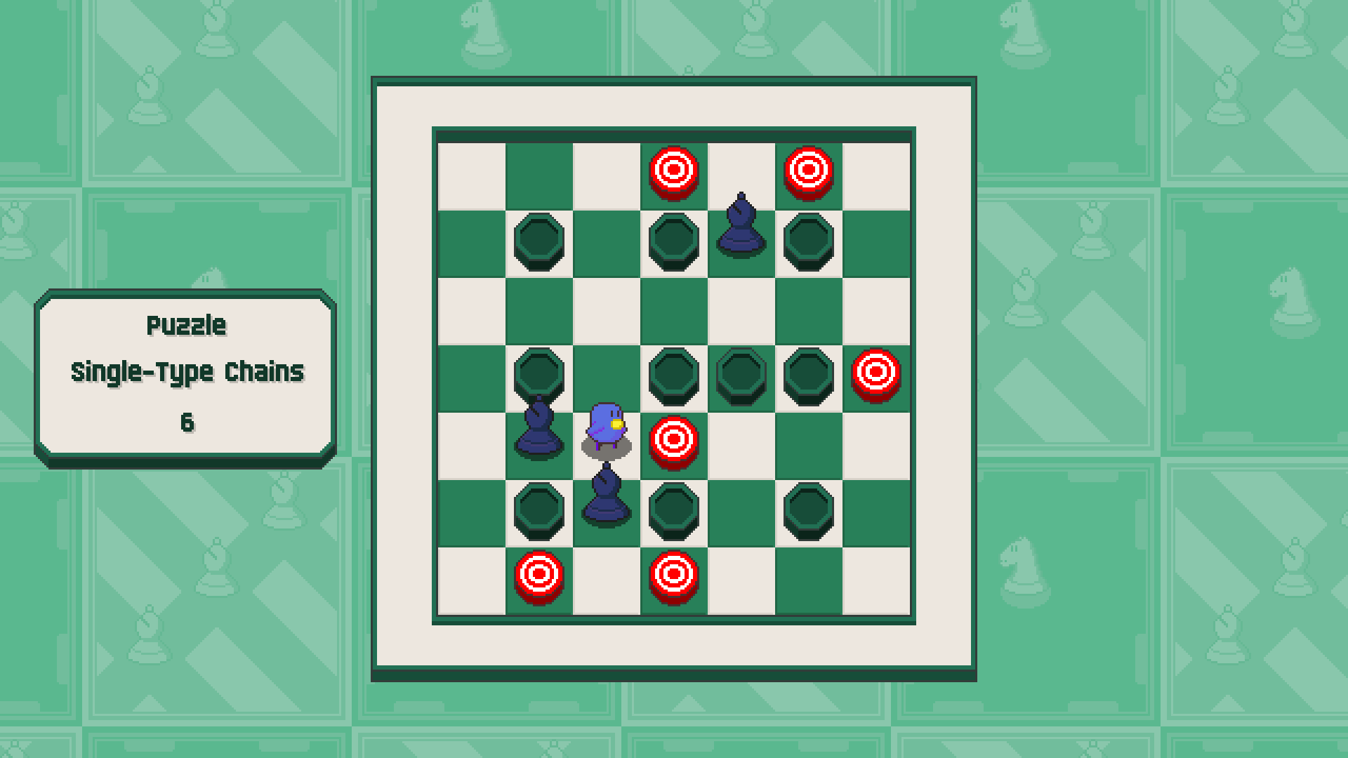 Chessplosion - Puzzle Solution Guide + Achievements Walkthrough - Advanced: Single-Type Chains - 572FF7F