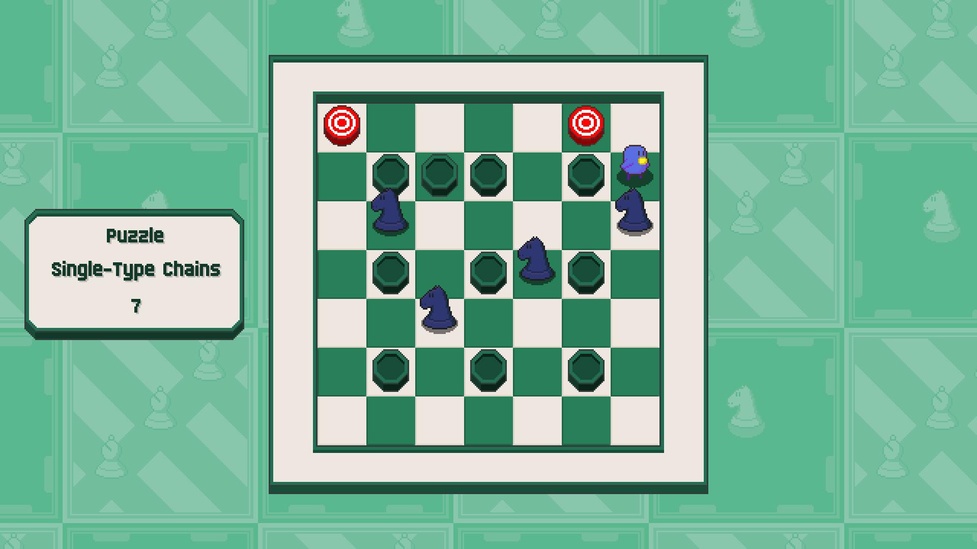 Chessplosion - Puzzle Solution Guide + Achievements Walkthrough - Advanced: Single-Type Chains - 5C939D7