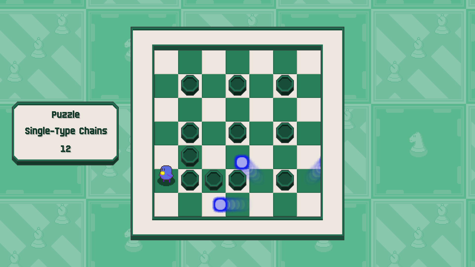 Chessplosion - Puzzle Solution Guide + Achievements Walkthrough - Advanced: Single-Type Chains - 61225EE