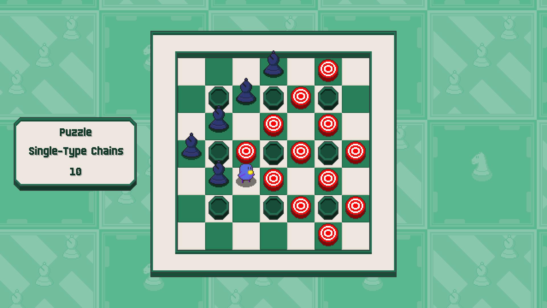 Chessplosion - Puzzle Solution Guide + Achievements Walkthrough - Advanced: Single-Type Chains - 752C864