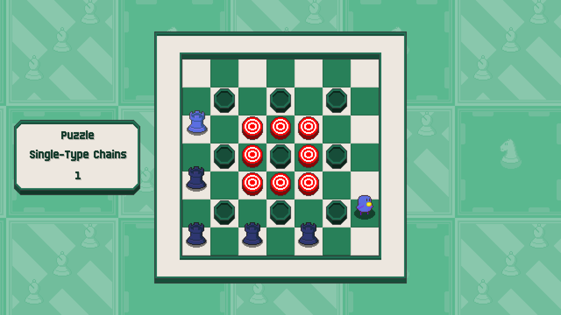 Chessplosion - Puzzle Solution Guide + Achievements Walkthrough - Advanced: Single-Type Chains - A9B0E5F