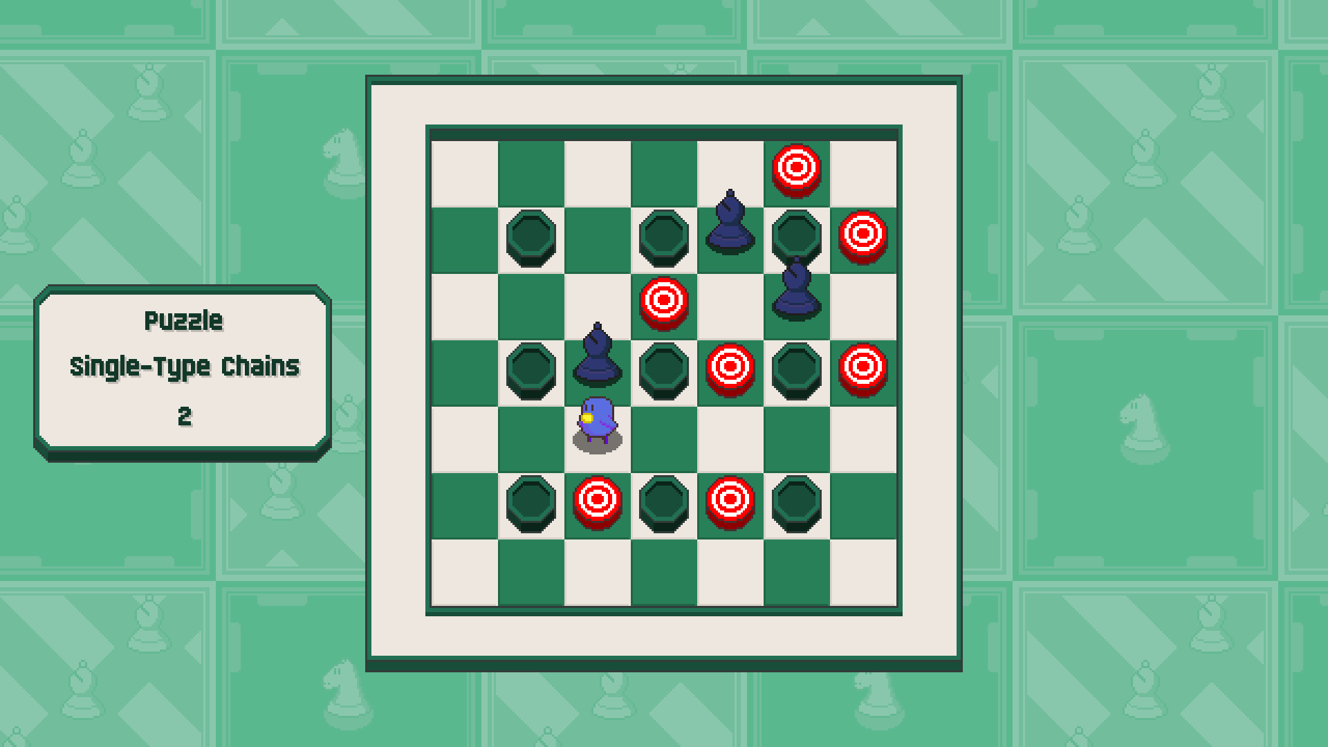 Chessplosion - Puzzle Solution Guide + Achievements Walkthrough - Advanced: Single-Type Chains - EF29463
