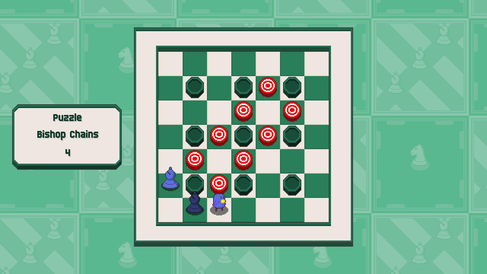 Chessplosion - Puzzle Solution Guide + Achievements Walkthrough - Beginner: Bishop Chains - 0BBE937