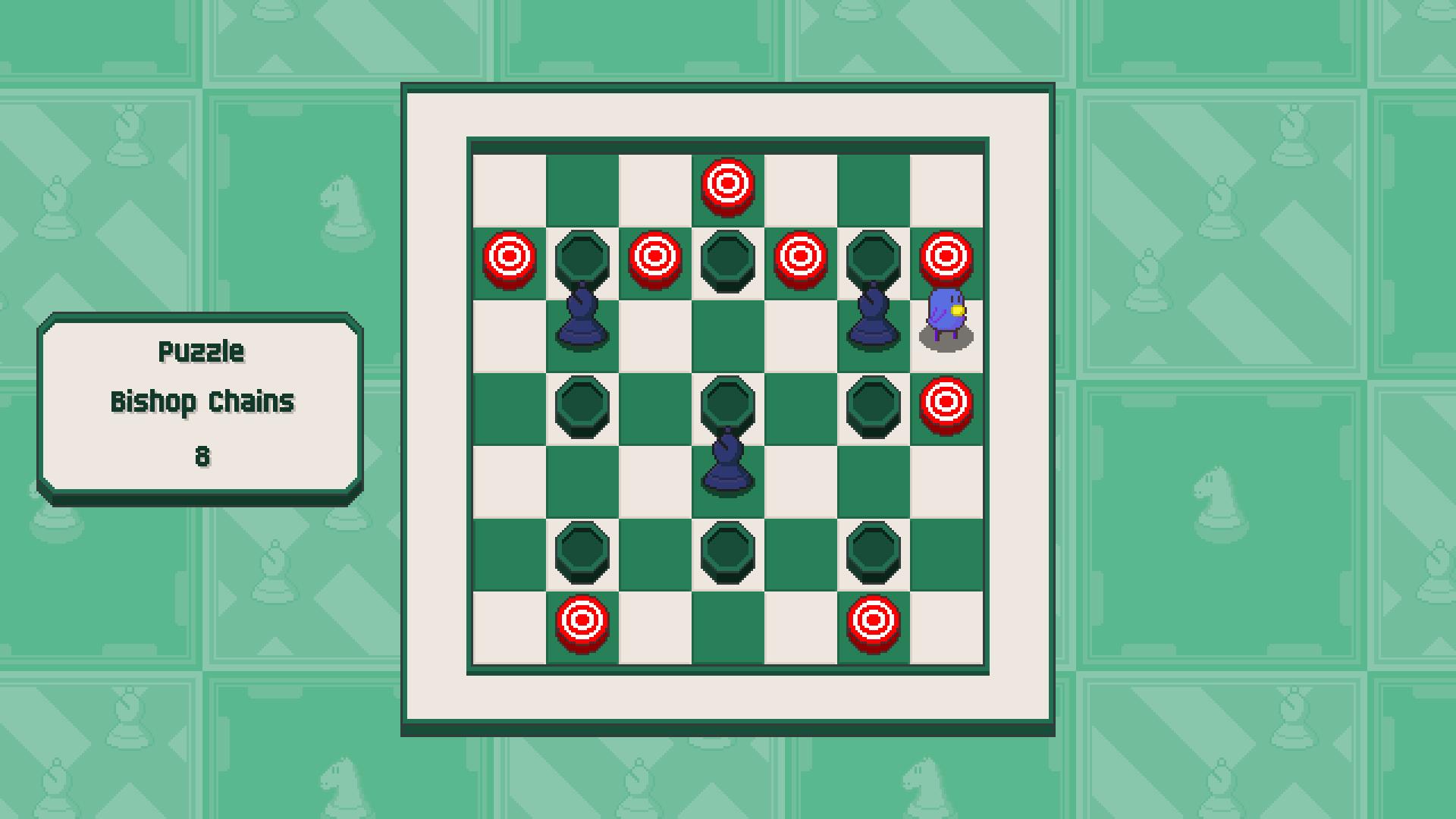 Chessplosion - Puzzle Solution Guide + Achievements Walkthrough - Beginner: Bishop Chains - A31BBD5