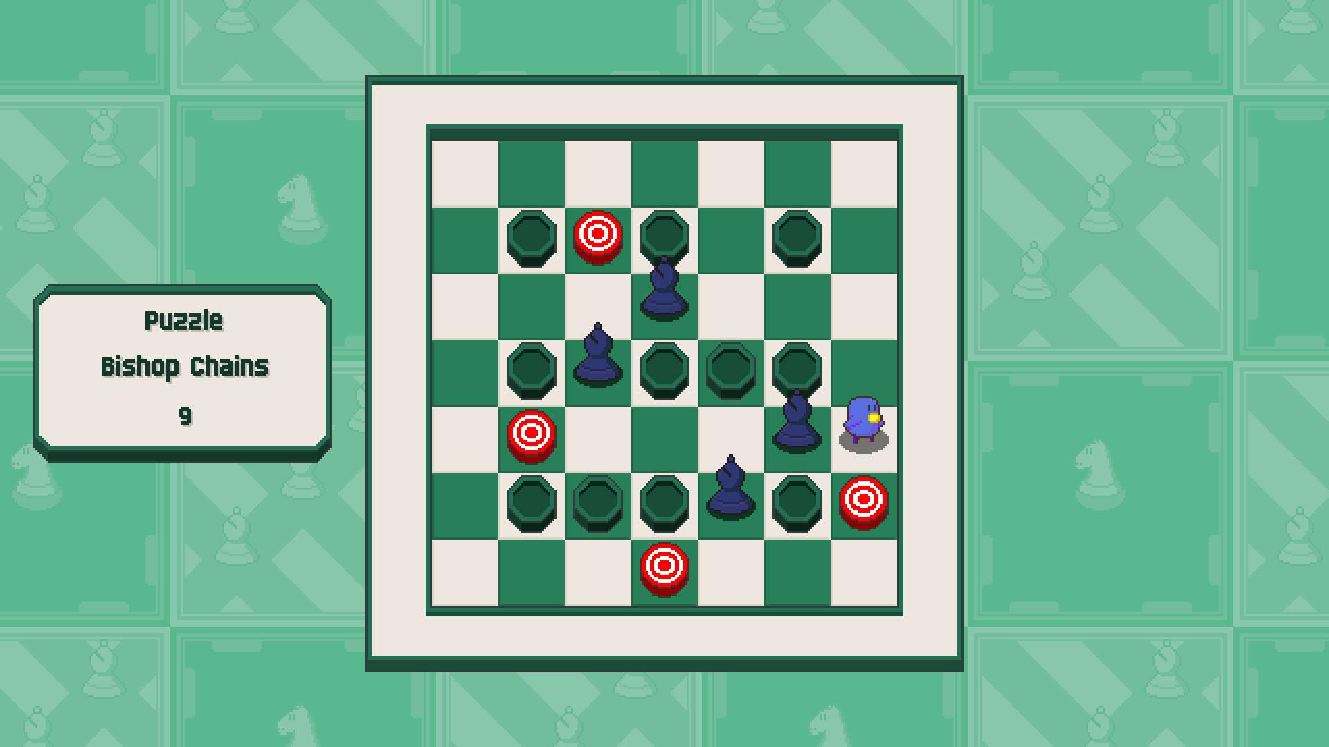 Chessplosion - Puzzle Solution Guide + Achievements Walkthrough - Beginner: Bishop Chains - B689654