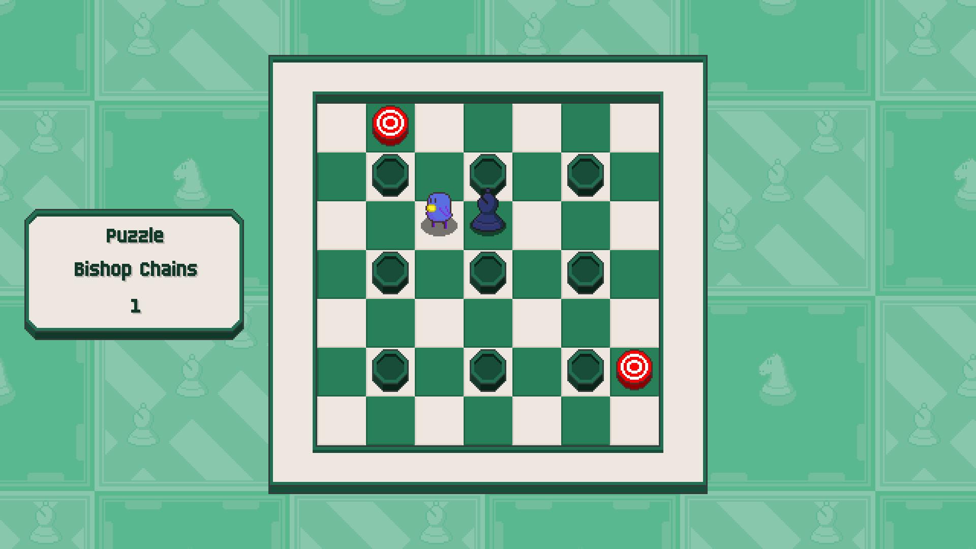 Chessplosion - Puzzle Solution Guide + Achievements Walkthrough - Beginner: Bishop Chains - C08102D