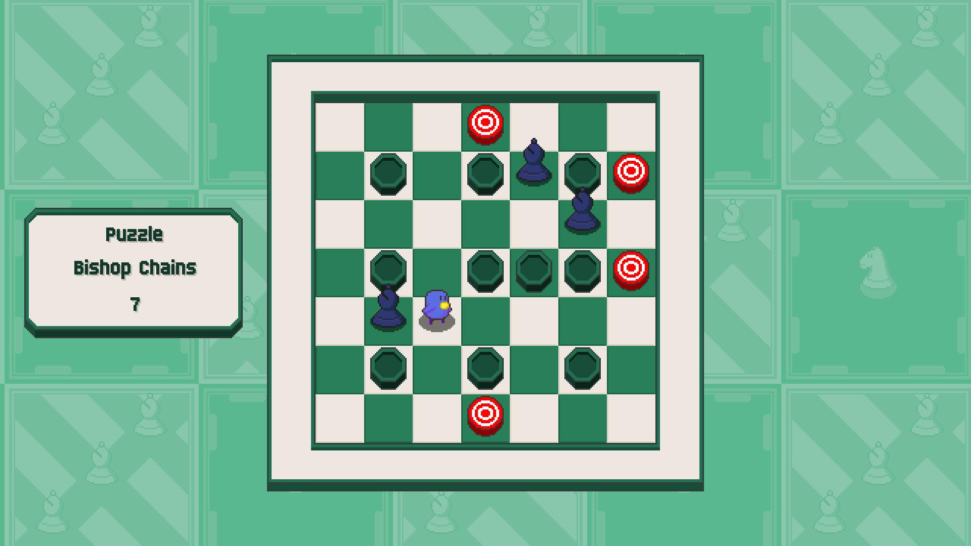 Chessplosion - Puzzle Solution Guide + Achievements Walkthrough - Beginner: Bishop Chains - E73C0A4