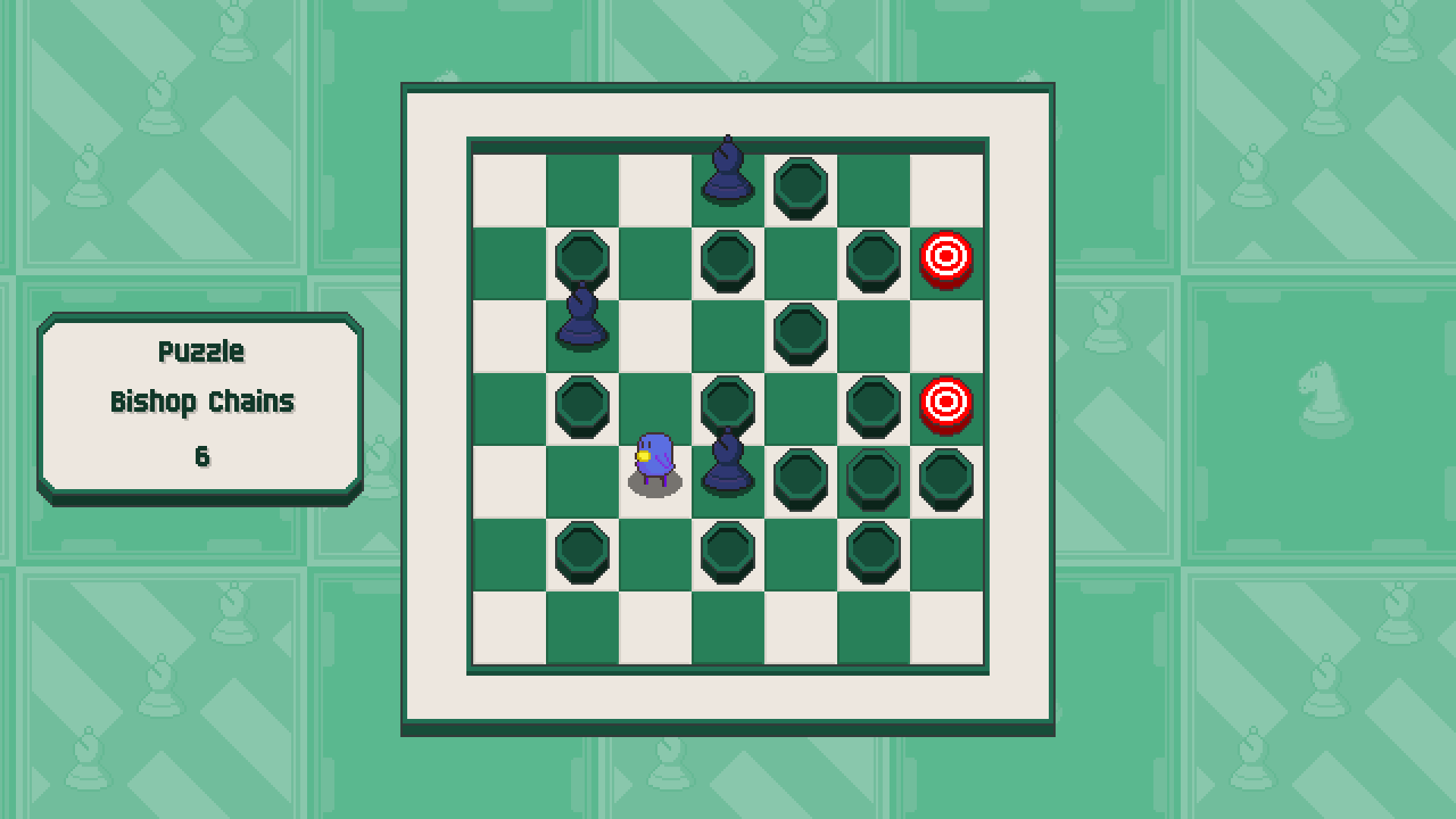 Chessplosion - Puzzle Solution Guide + Achievements Walkthrough - Beginner: Bishop Chains - E81F5D6
