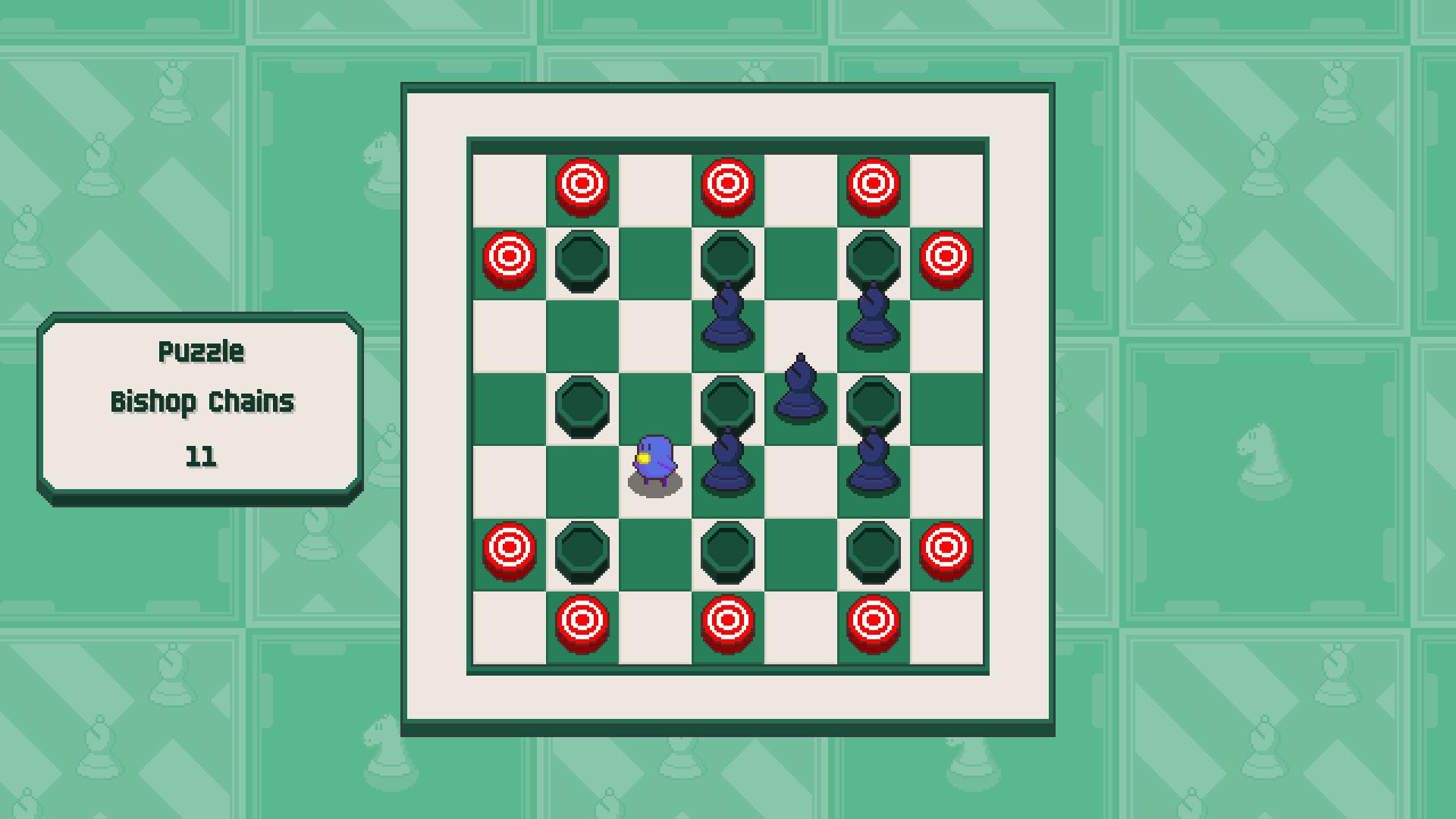 Chessplosion - Puzzle Solution Guide + Achievements Walkthrough - Beginner: Bishop Chains - EC14B1D