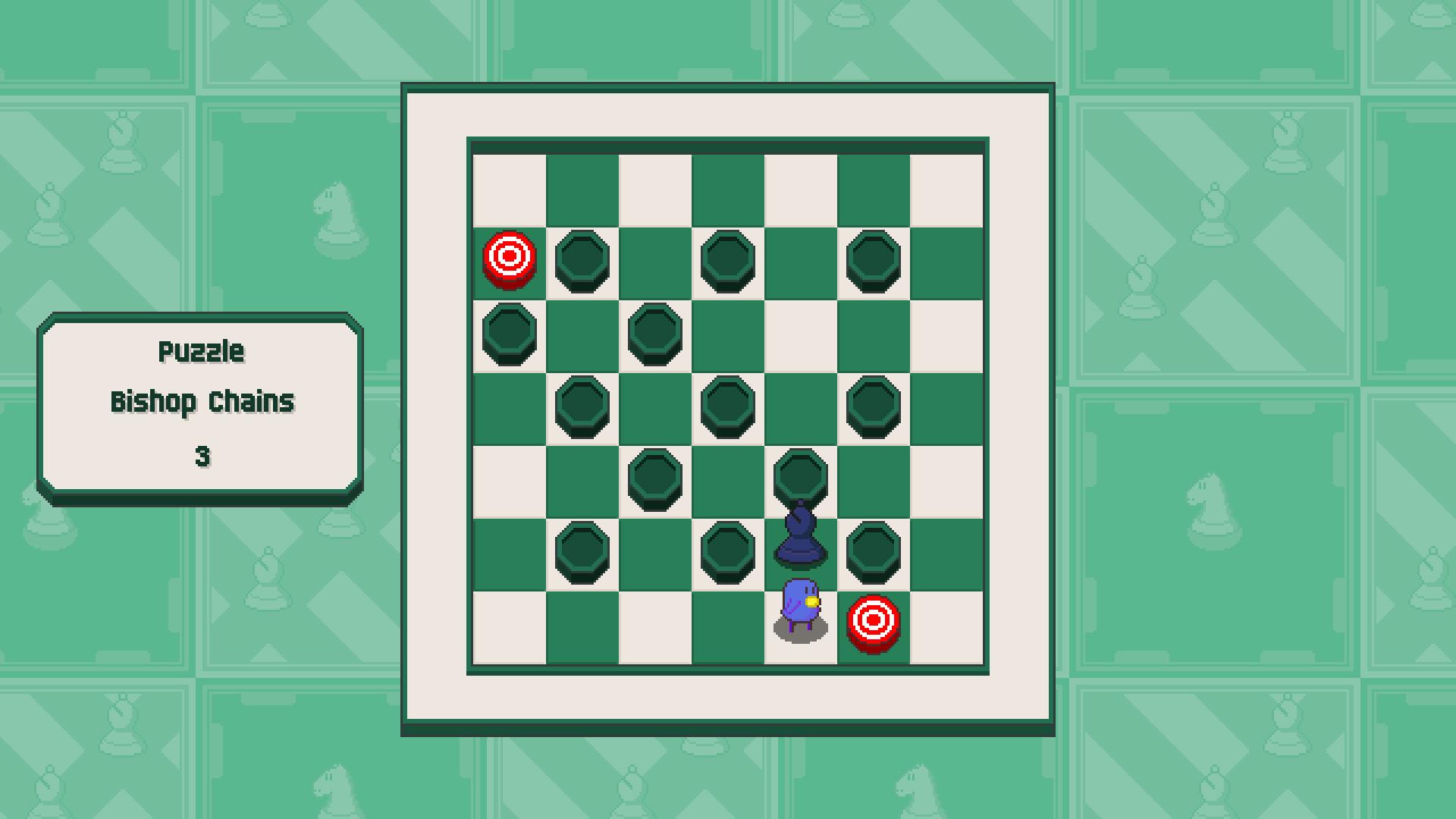 Chessplosion - Puzzle Solution Guide + Achievements Walkthrough - Beginner: Bishop Chains - F35C16A
