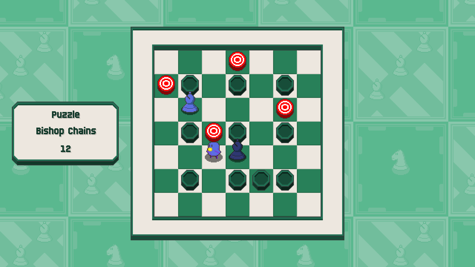 Chessplosion - Puzzle Solution Guide + Achievements Walkthrough - Beginner: Bishop Chains - F3CD0E0