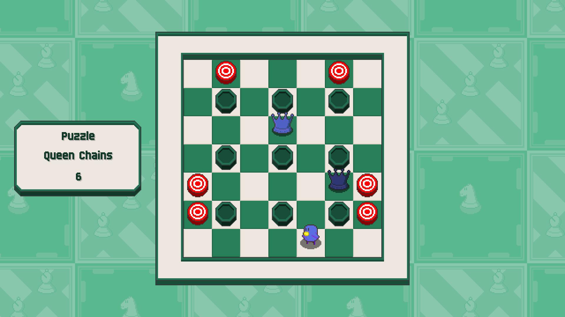 Chessplosion - Puzzle Solution Guide + Achievements Walkthrough - Beginner: Queen Chains - 271DD56