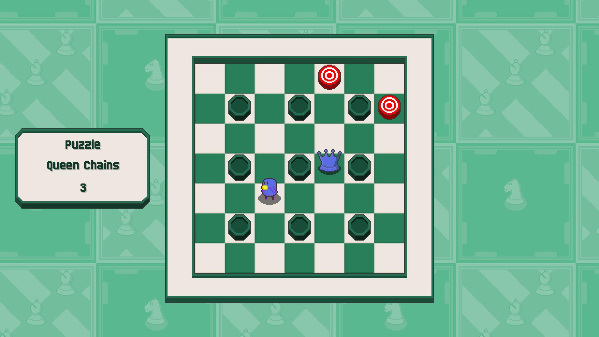 Chessplosion - Puzzle Solution Guide + Achievements Walkthrough - Beginner: Queen Chains - 5BCA839