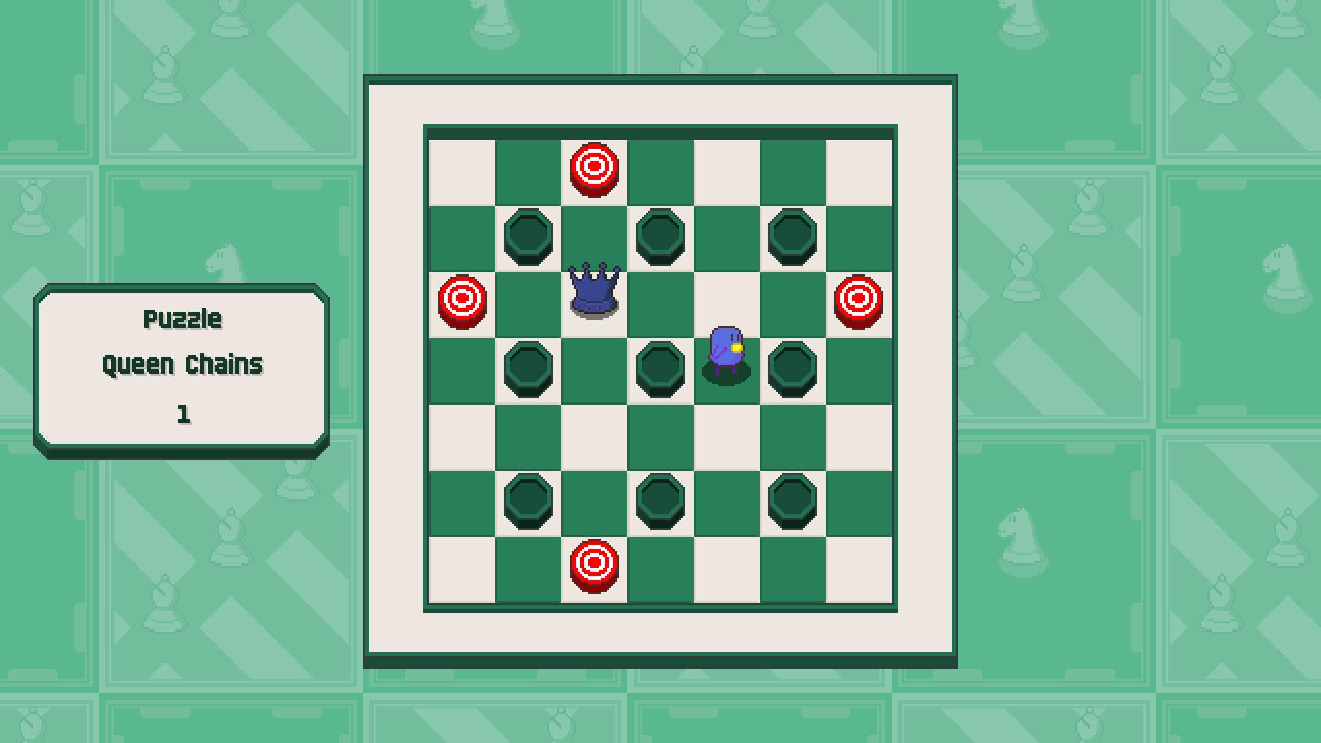 Chessplosion - Puzzle Solution Guide + Achievements Walkthrough - Beginner: Queen Chains - 5CB553F