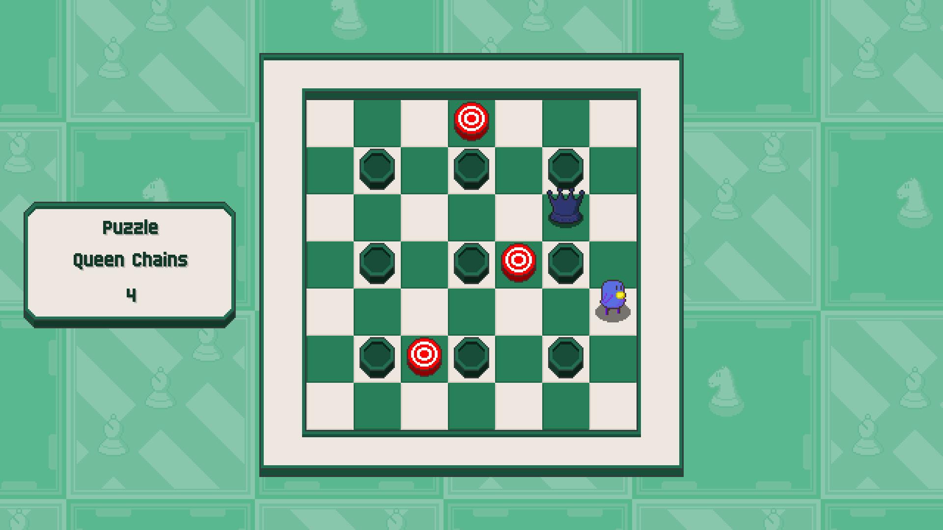 Chessplosion - Puzzle Solution Guide + Achievements Walkthrough - Beginner: Queen Chains - 839B961