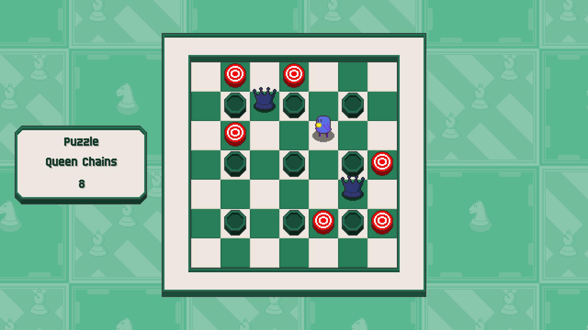 Chessplosion - Puzzle Solution Guide + Achievements Walkthrough - Beginner: Queen Chains - 91980AB