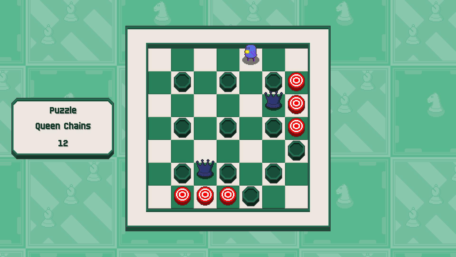 Chessplosion - Puzzle Solution Guide + Achievements Walkthrough - Beginner: Queen Chains - A488C80