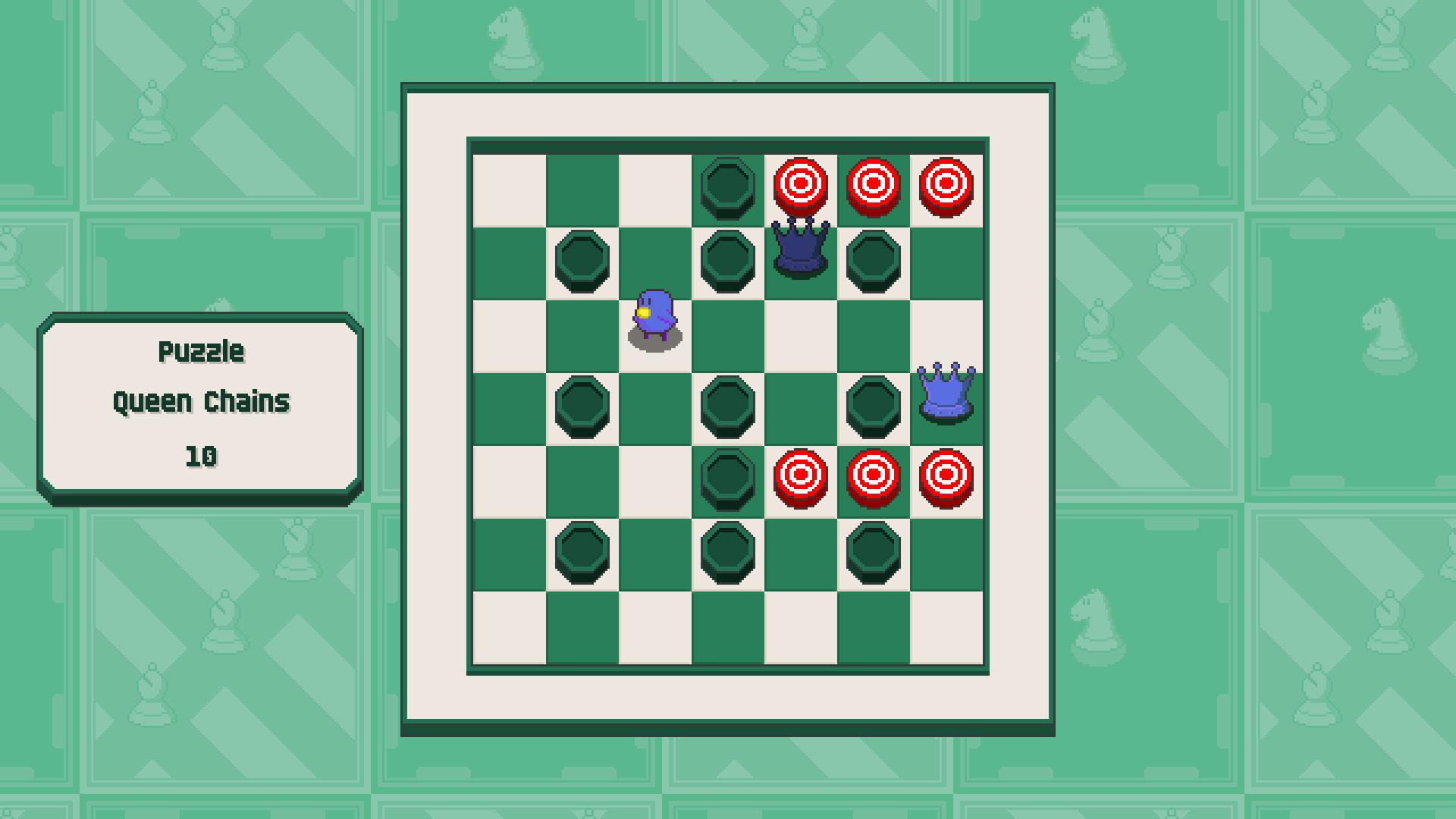 Chessplosion - Puzzle Solution Guide + Achievements Walkthrough - Beginner: Queen Chains - EA726EF