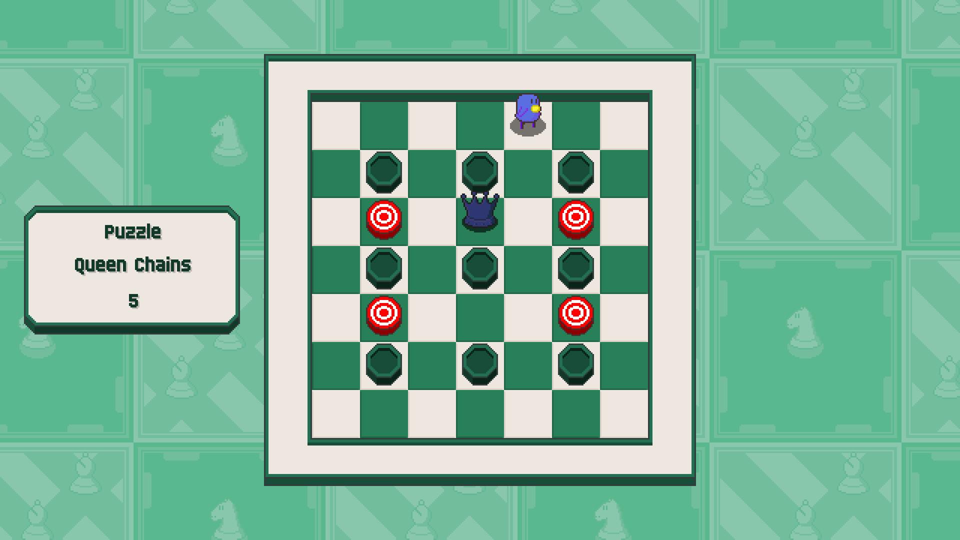 Chessplosion - Puzzle Solution Guide + Achievements Walkthrough - Beginner: Queen Chains - EC2387D