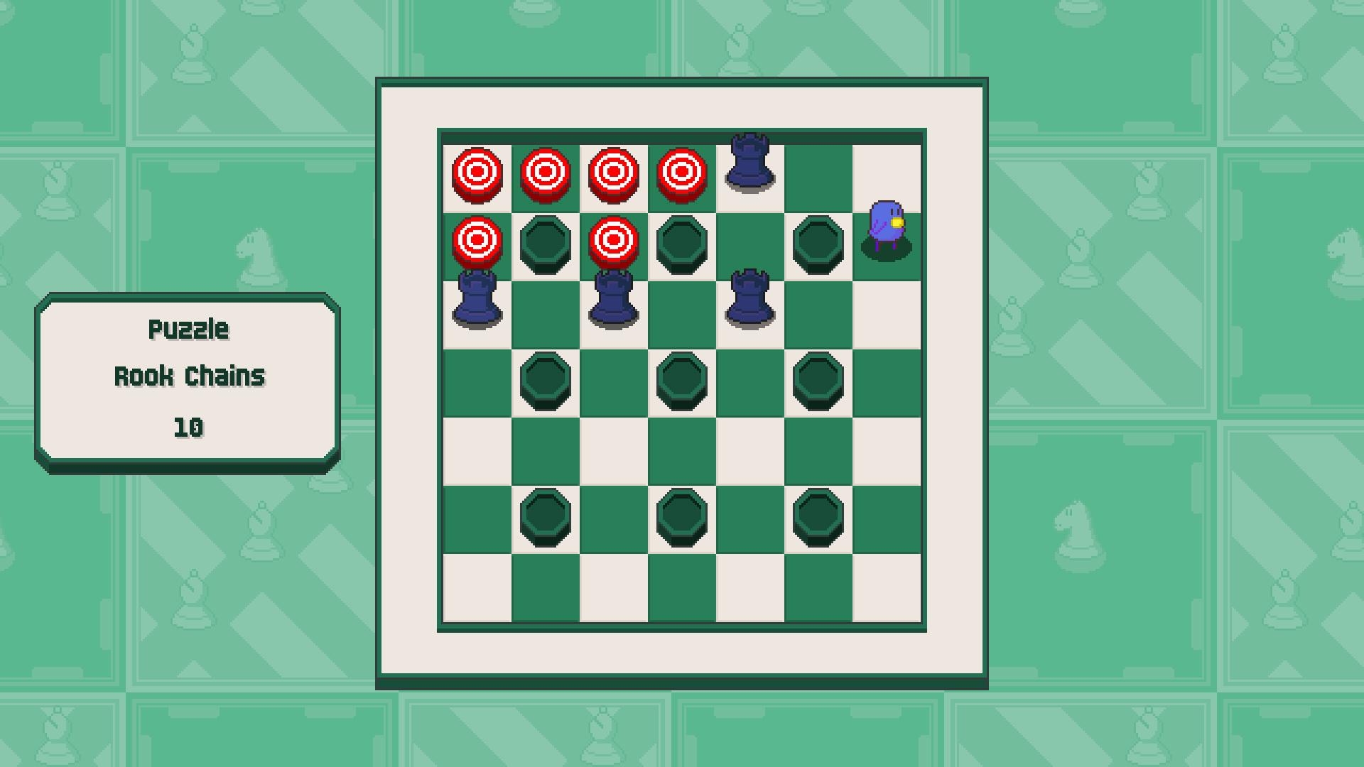 Chessplosion - Puzzle Solution Guide + Achievements Walkthrough - Beginner: Rook Chains - 13F7720
