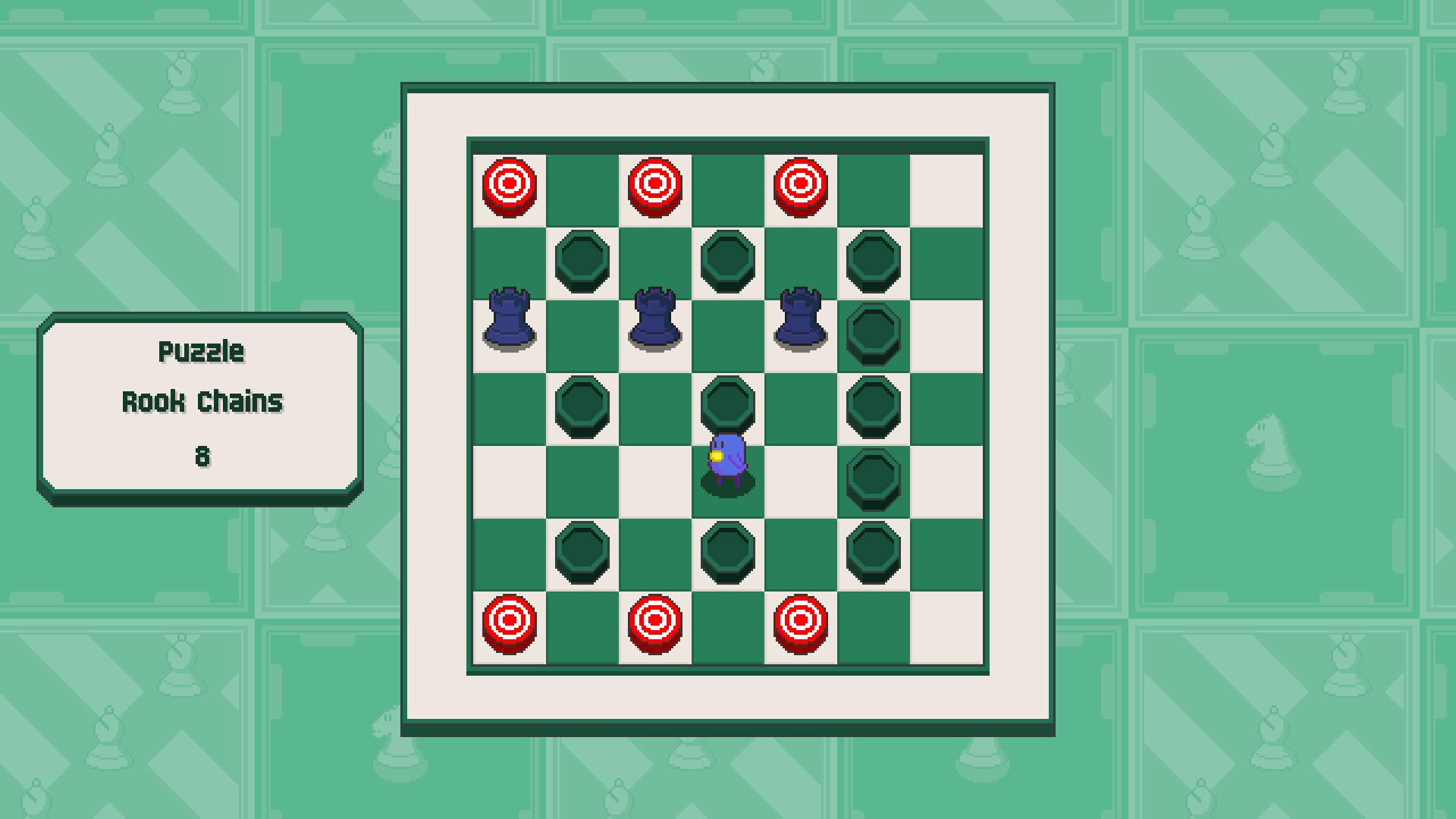 Chessplosion - Puzzle Solution Guide + Achievements Walkthrough - Beginner: Rook Chains - 30E7AF8