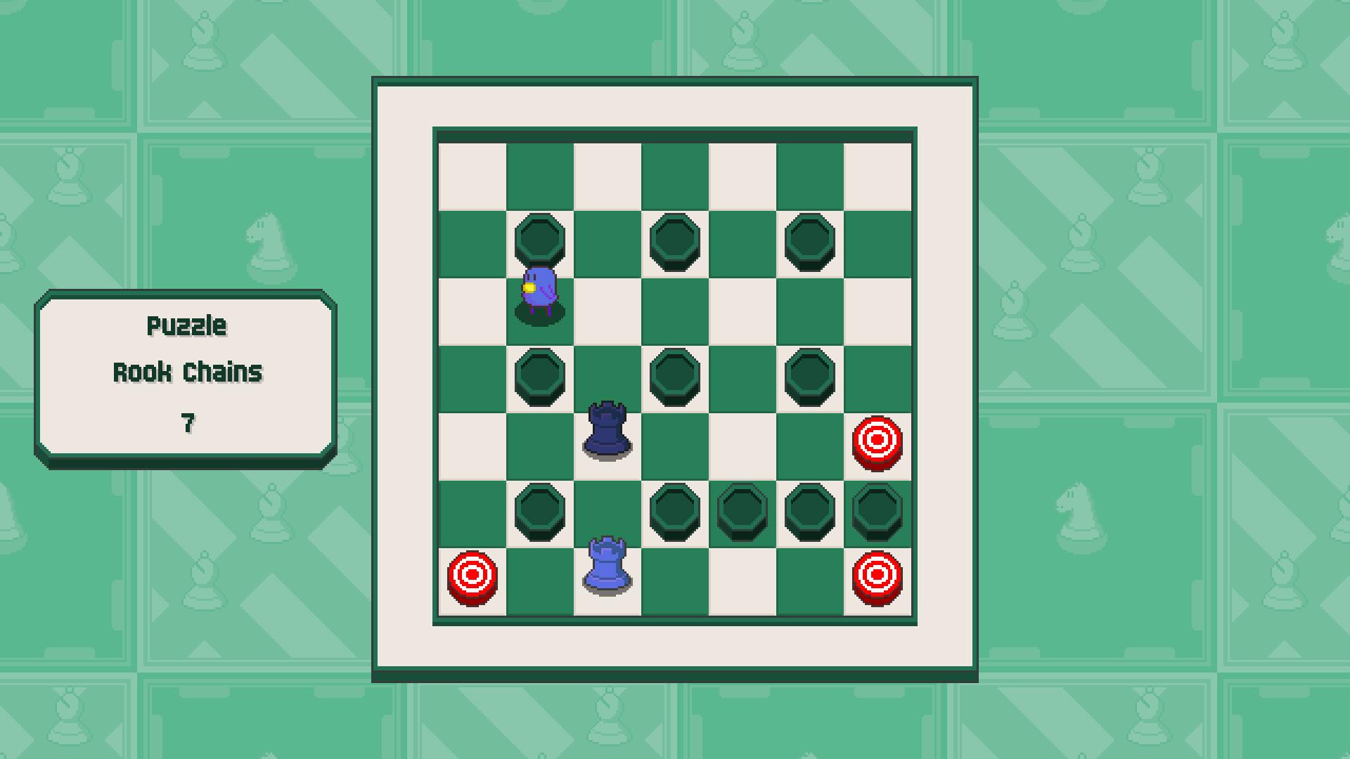 Chessplosion - Puzzle Solution Guide + Achievements Walkthrough - Beginner: Rook Chains - 41D1FD4