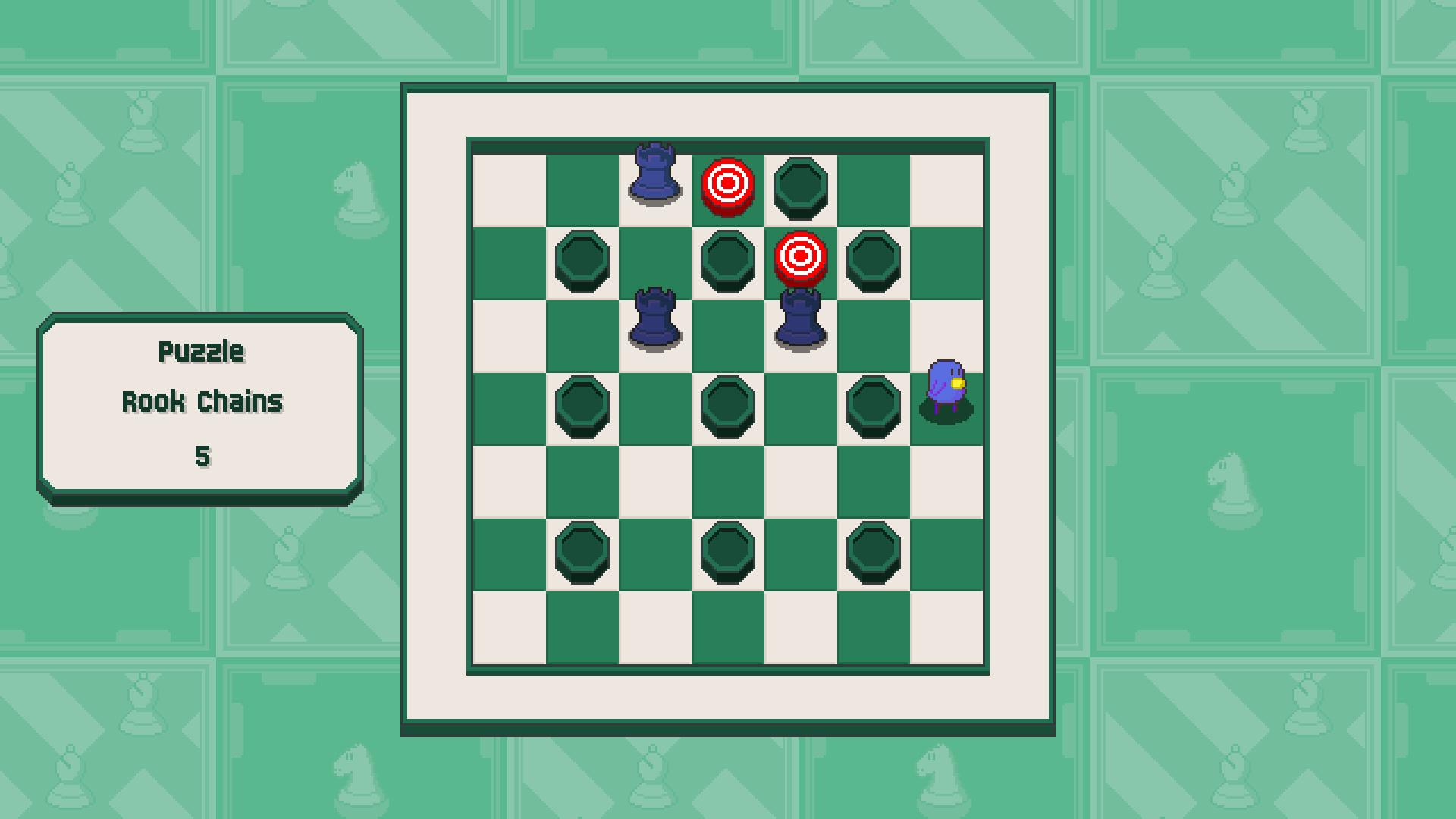 Chessplosion - Puzzle Solution Guide + Achievements Walkthrough - Beginner: Rook Chains - 5E8E11B