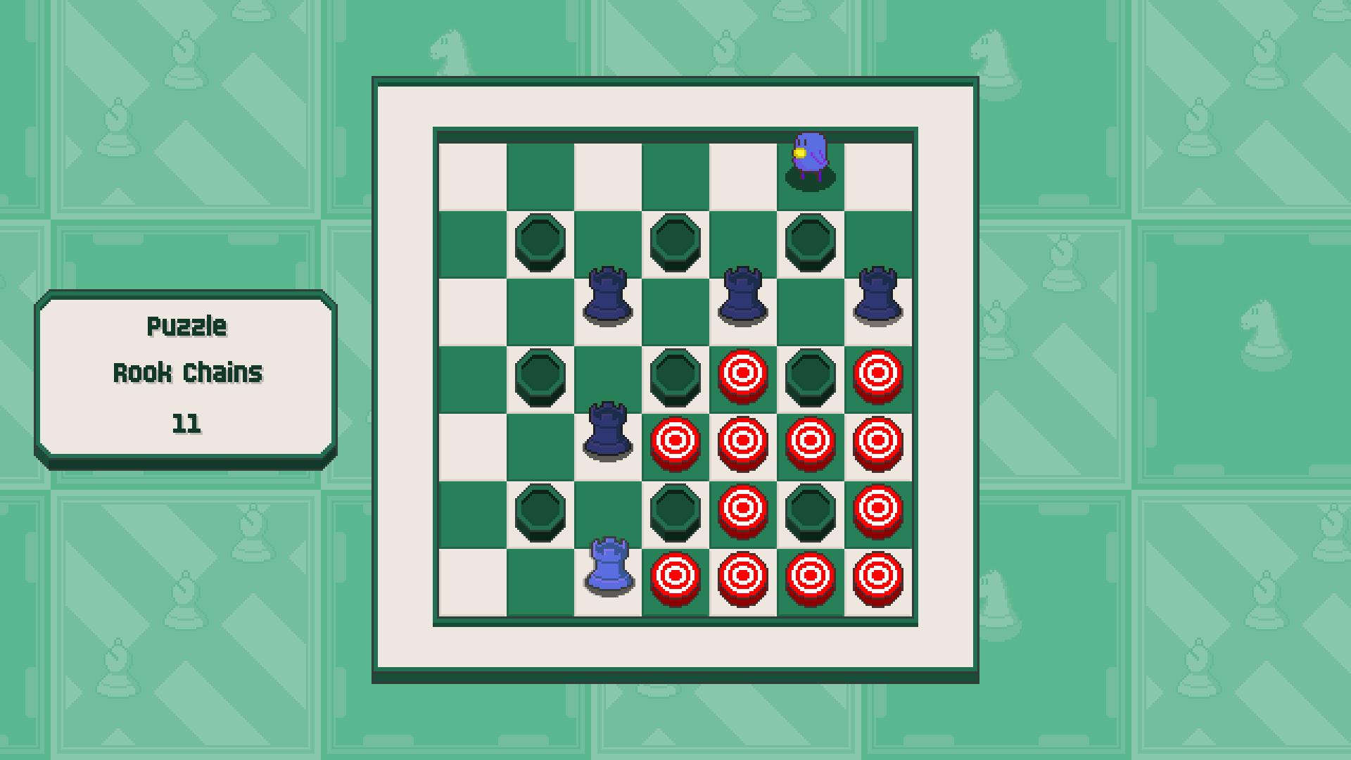 Chessplosion - Puzzle Solution Guide + Achievements Walkthrough - Beginner: Rook Chains - 689A0FB