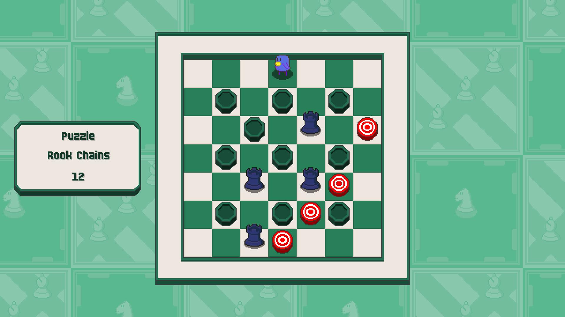 Chessplosion - Puzzle Solution Guide + Achievements Walkthrough - Beginner: Rook Chains - 691C982