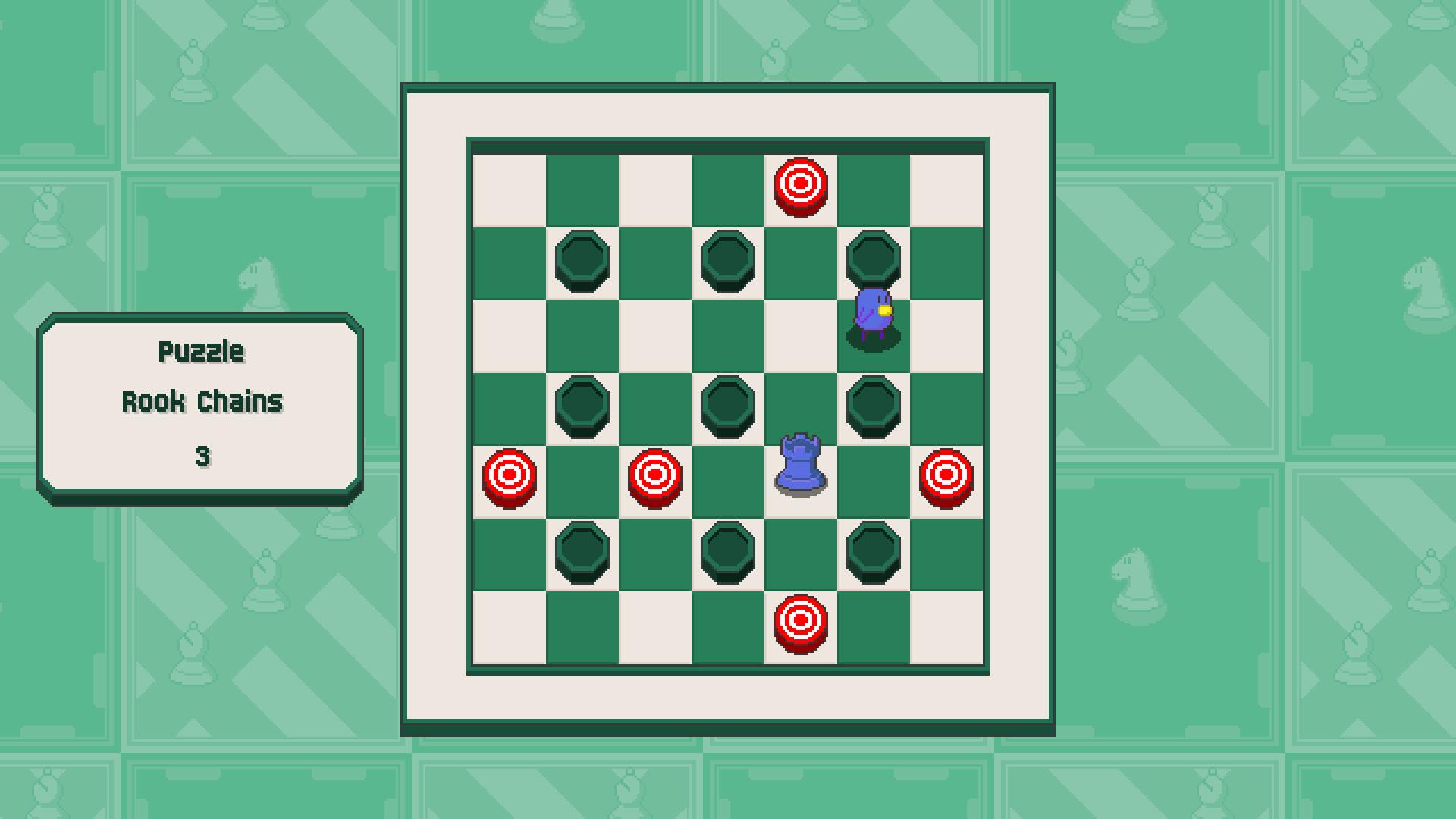 Chessplosion - Puzzle Solution Guide + Achievements Walkthrough - Beginner: Rook Chains - CF425E0