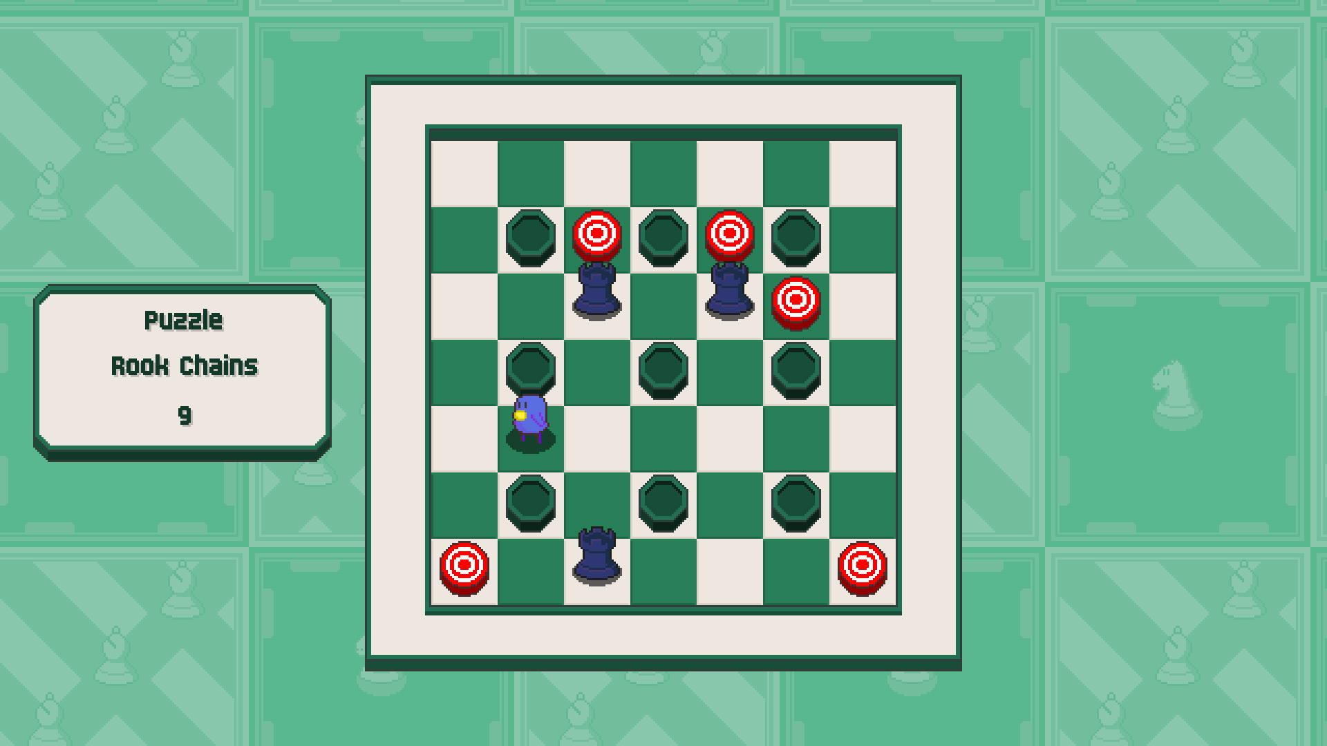 Chessplosion - Puzzle Solution Guide + Achievements Walkthrough - Beginner: Rook Chains - EC1A218