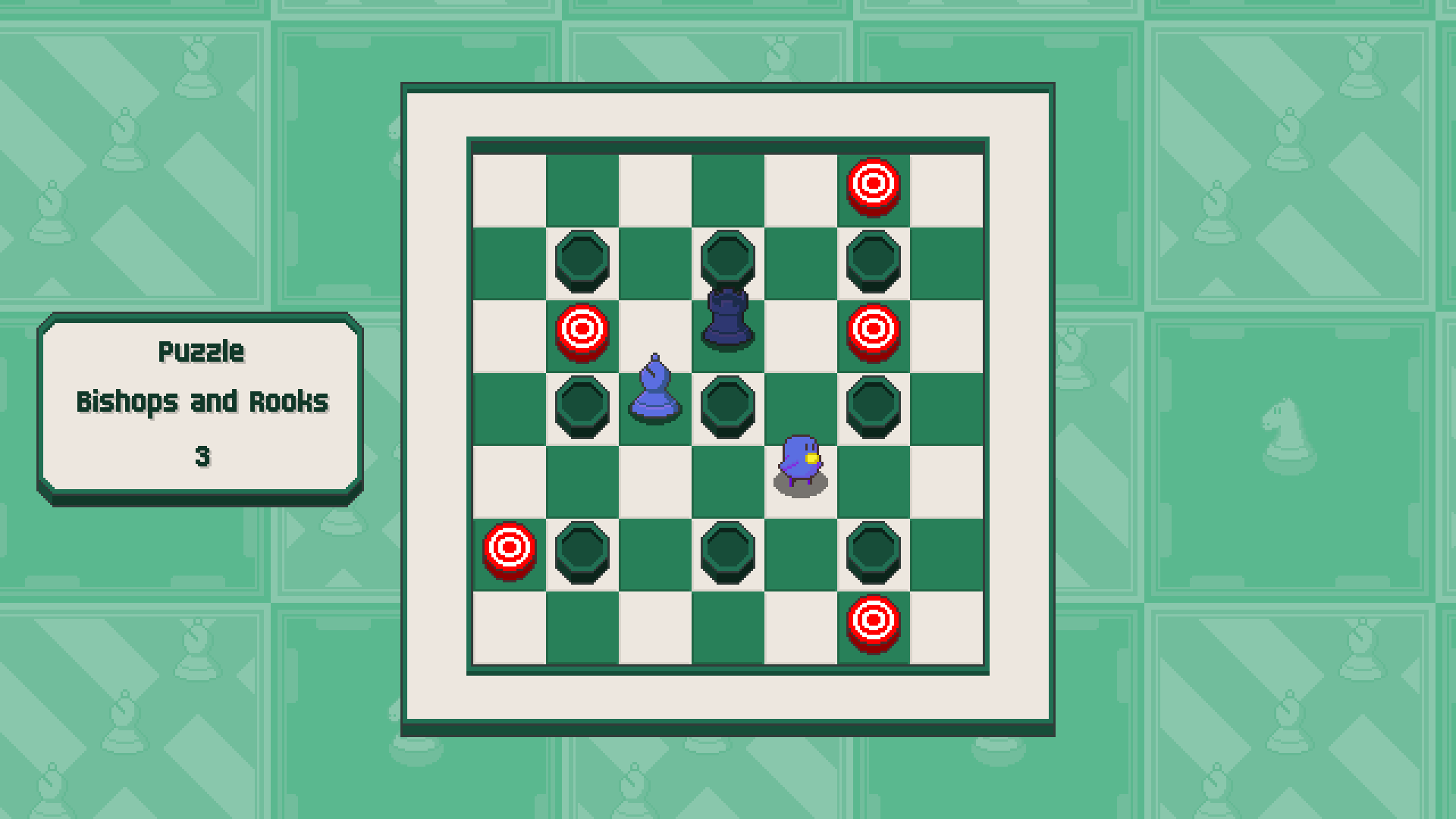 Chessplosion - Puzzle Solution Guide + Achievements Walkthrough - Expert: Bishops and Rooks - 15EEE5D