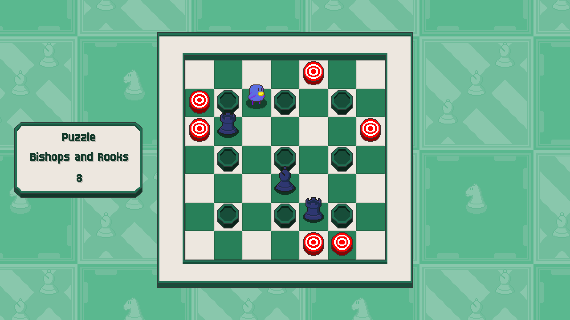 Chessplosion - Puzzle Solution Guide + Achievements Walkthrough - Expert: Bishops and Rooks - 8BF7BC1