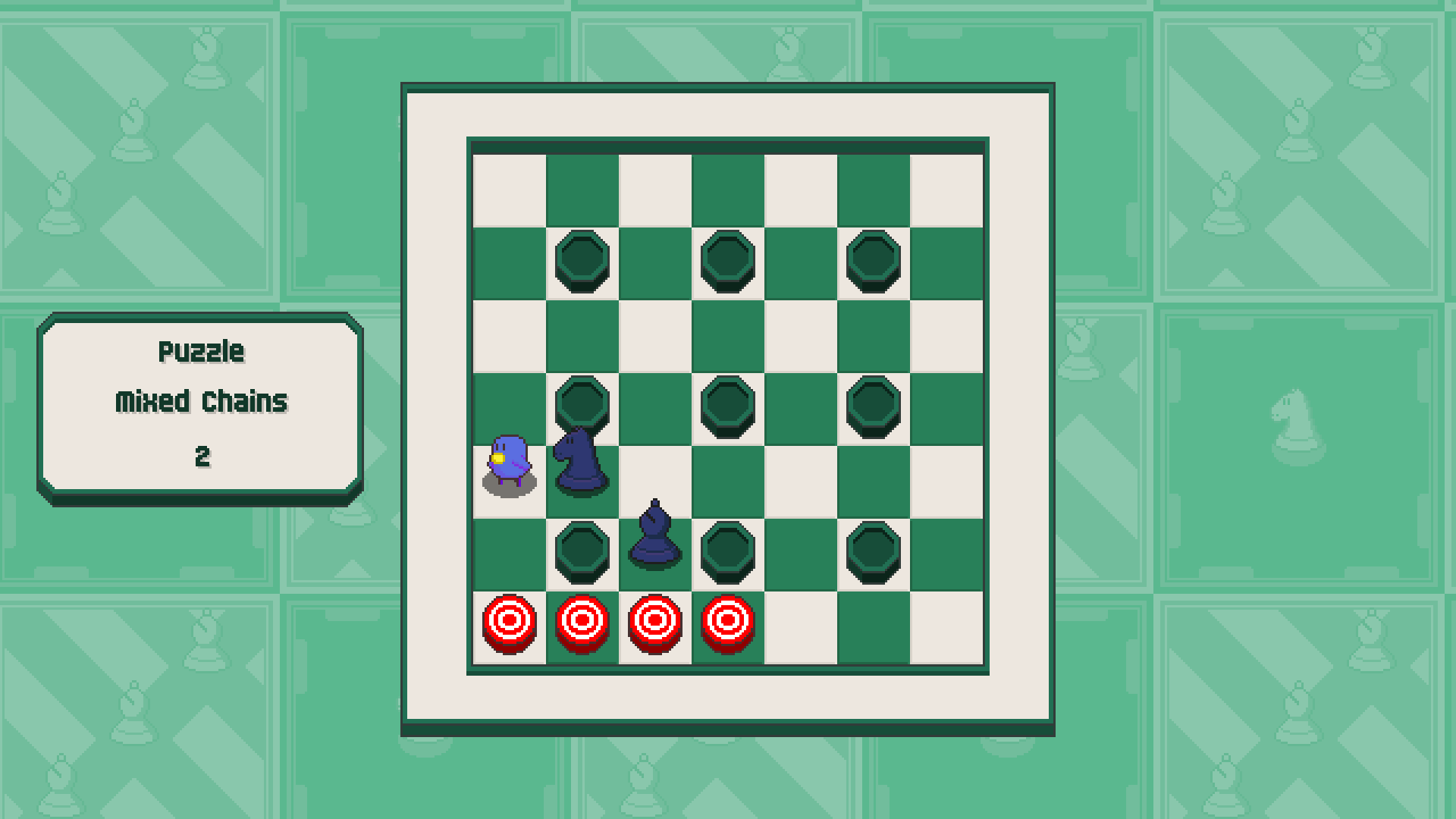 Chessplosion - Puzzle Solution Guide + Achievements Walkthrough - Expert: Mixed Chains - 11019BF