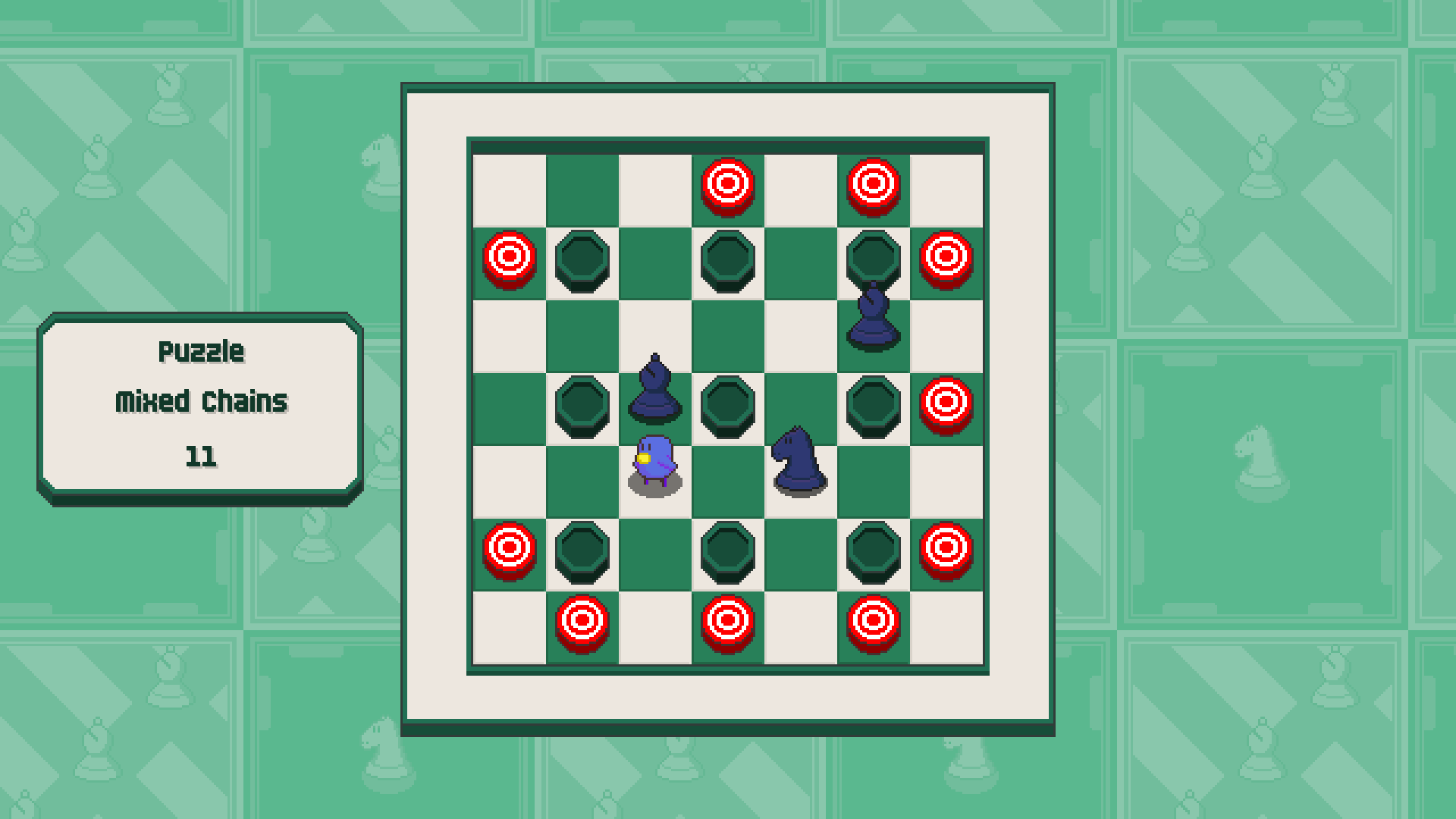 Chessplosion - Puzzle Solution Guide + Achievements Walkthrough - Expert: Mixed Chains - 5AFA134