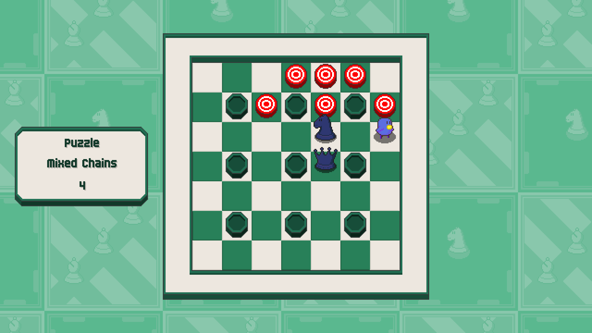 Chessplosion - Puzzle Solution Guide + Achievements Walkthrough - Expert: Mixed Chains - 5C61CB4