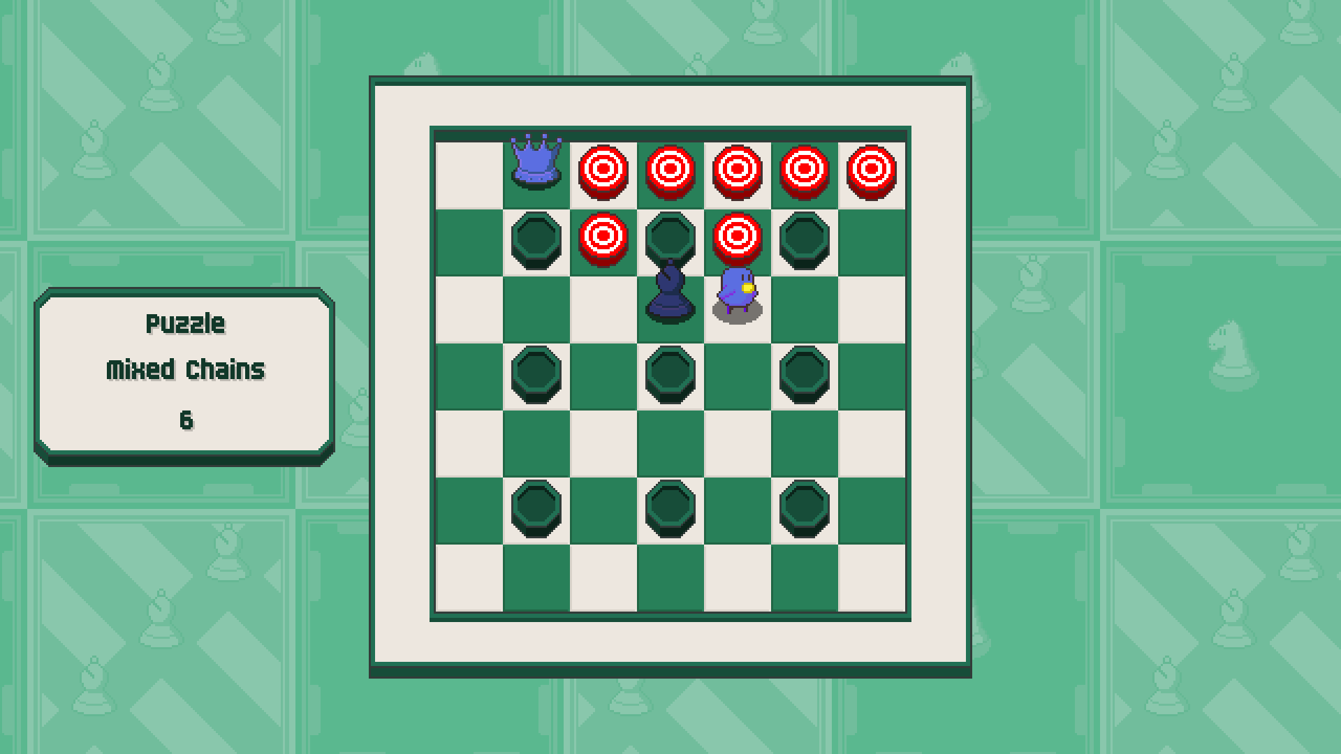 Chessplosion - Puzzle Solution Guide + Achievements Walkthrough - Expert: Mixed Chains - 702C832