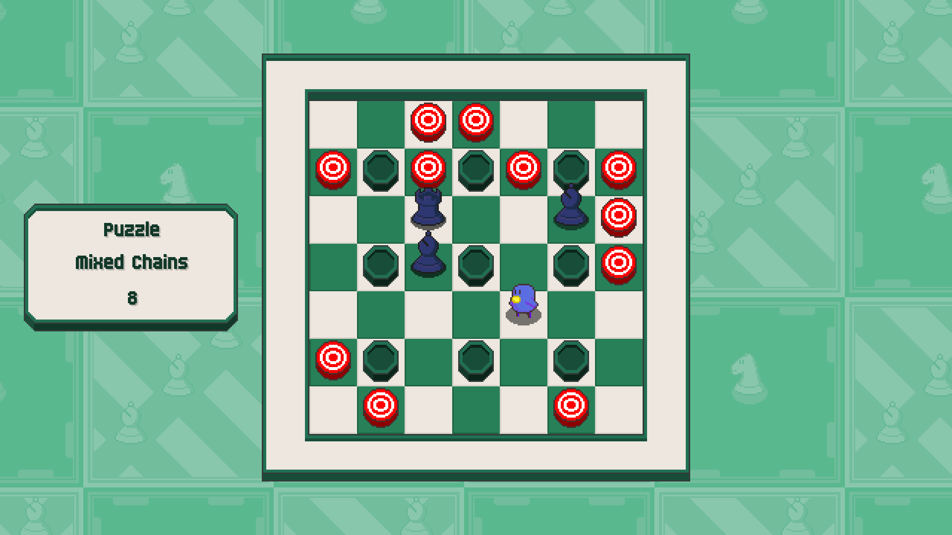 Chessplosion - Puzzle Solution Guide + Achievements Walkthrough - Expert: Mixed Chains - 7316A1A