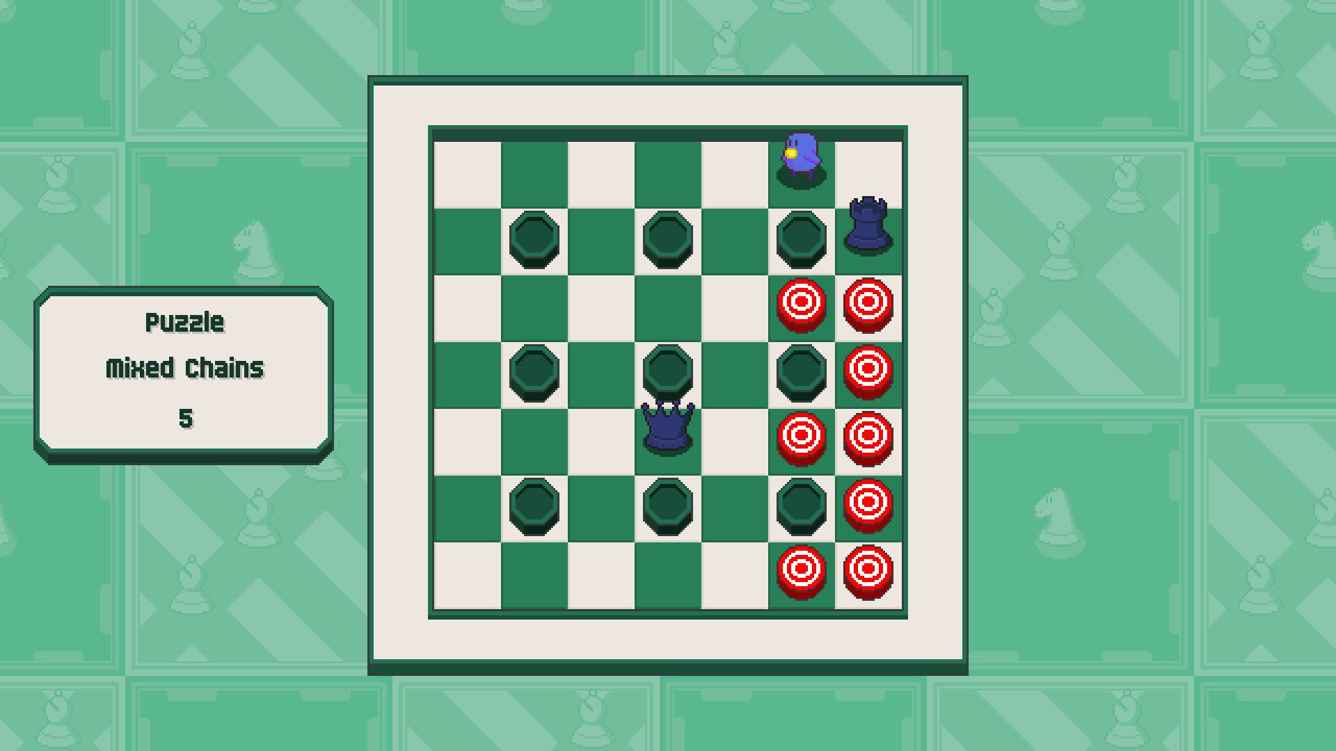 Chessplosion - Puzzle Solution Guide + Achievements Walkthrough - Expert: Mixed Chains - 8B5886D