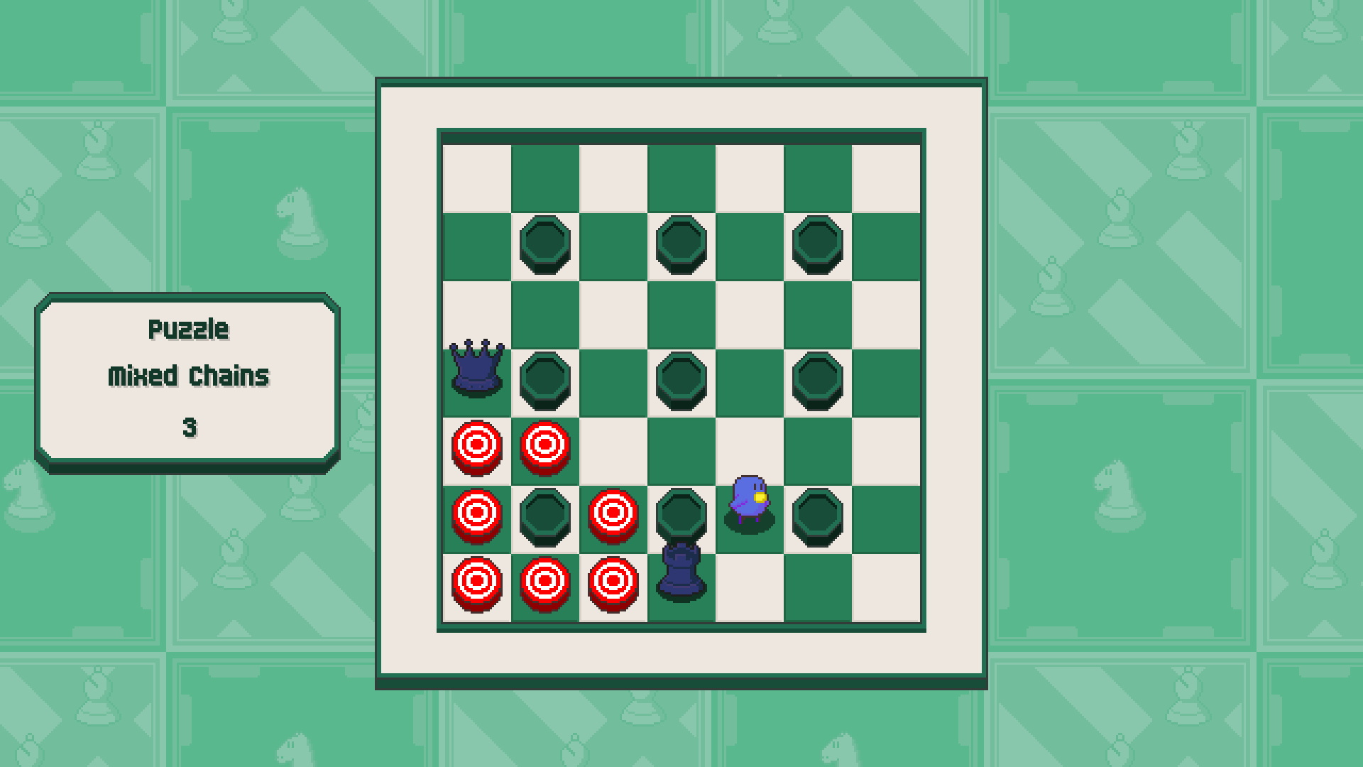 Chessplosion - Puzzle Solution Guide + Achievements Walkthrough - Expert: Mixed Chains - A99C17F