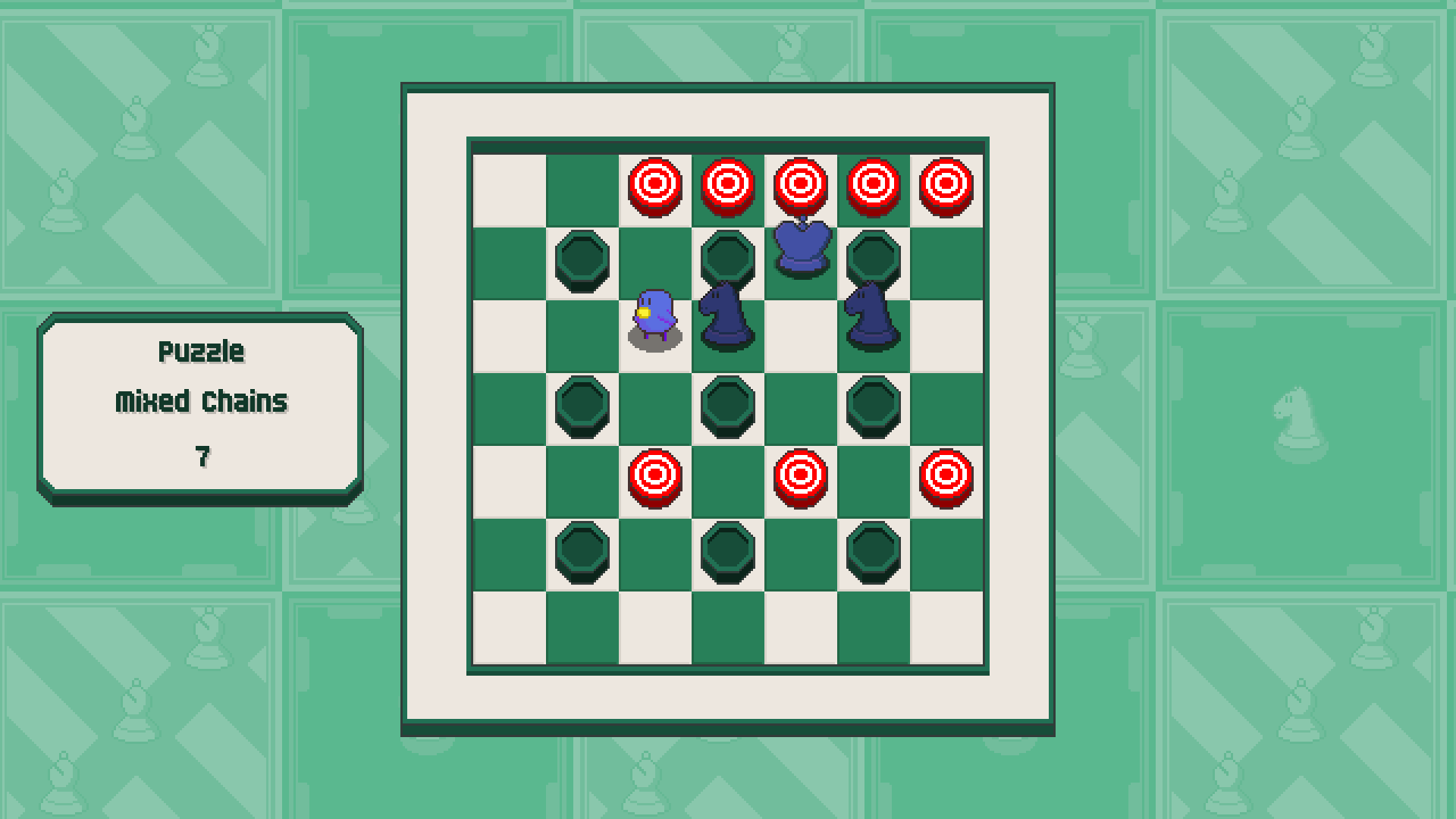 Chessplosion - Puzzle Solution Guide + Achievements Walkthrough - Expert: Mixed Chains - AE7749C