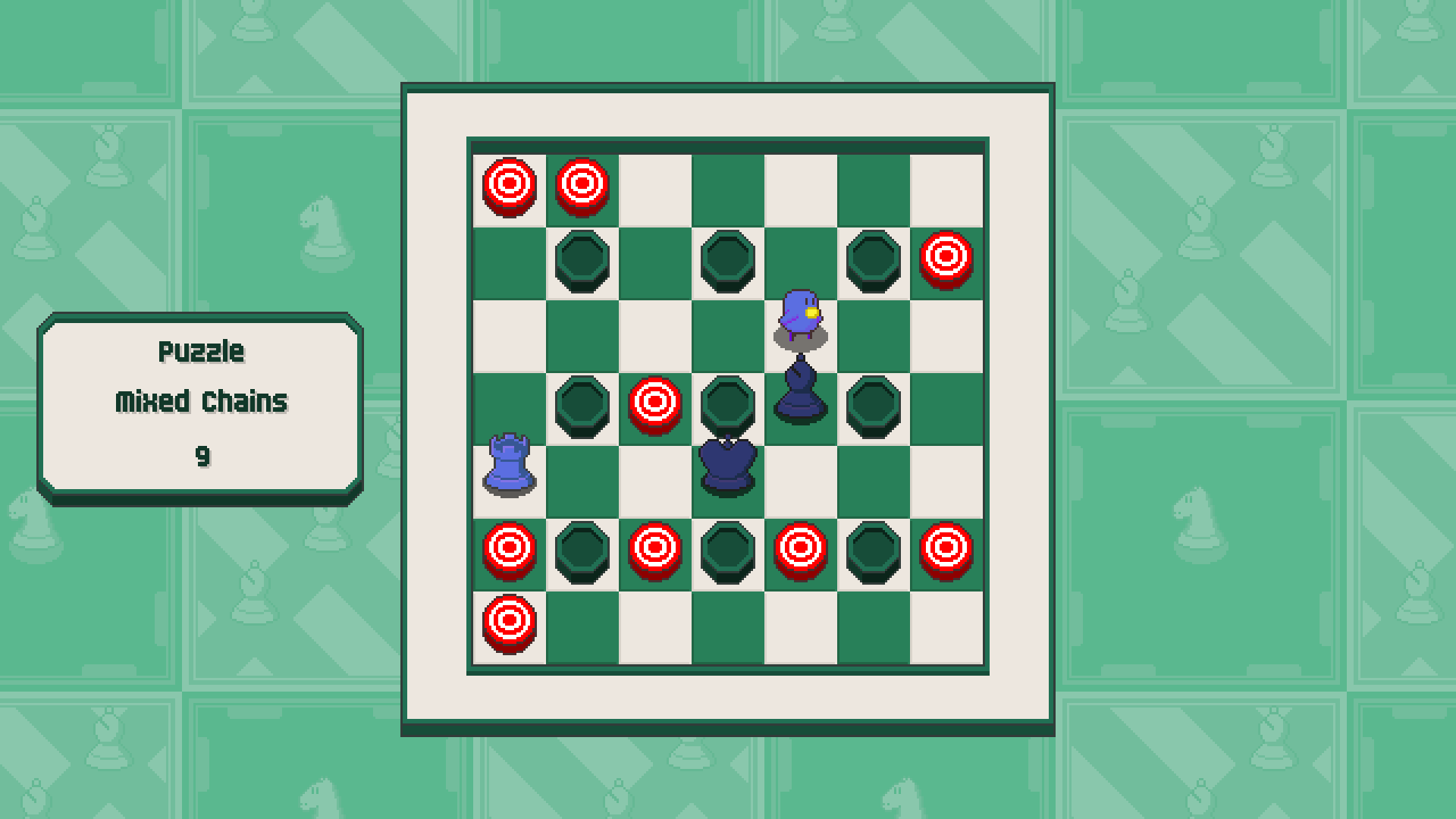 Chessplosion - Puzzle Solution Guide + Achievements Walkthrough - Expert: Mixed Chains - B0C2174