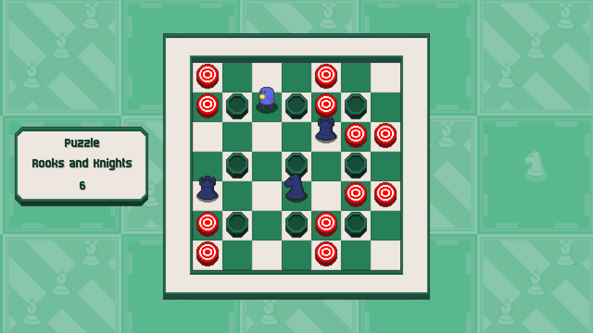 Chessplosion - Puzzle Solution Guide + Achievements Walkthrough - Expert: Rooks and Knights - 0F671E8
