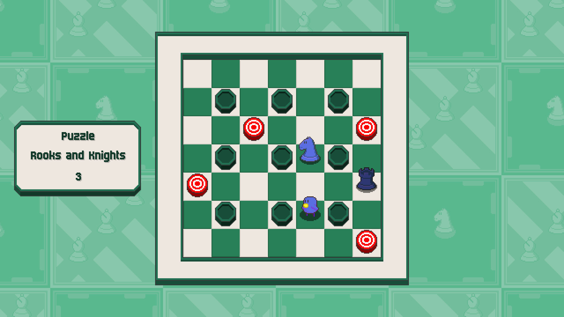 Chessplosion - Puzzle Solution Guide + Achievements Walkthrough - Expert: Rooks and Knights - 16BF0B0