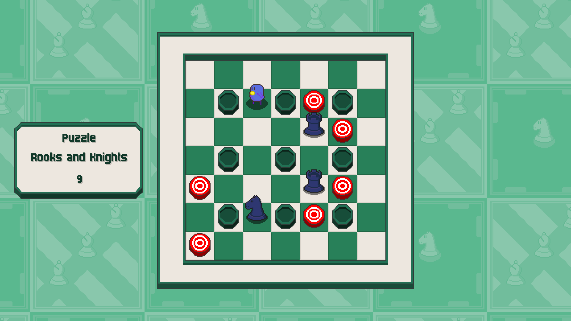 Chessplosion - Puzzle Solution Guide + Achievements Walkthrough - Expert: Rooks and Knights - 46F511F