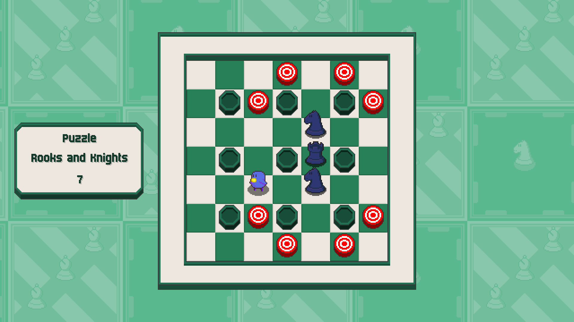 Chessplosion - Puzzle Solution Guide + Achievements Walkthrough - Expert: Rooks and Knights - 7924C01